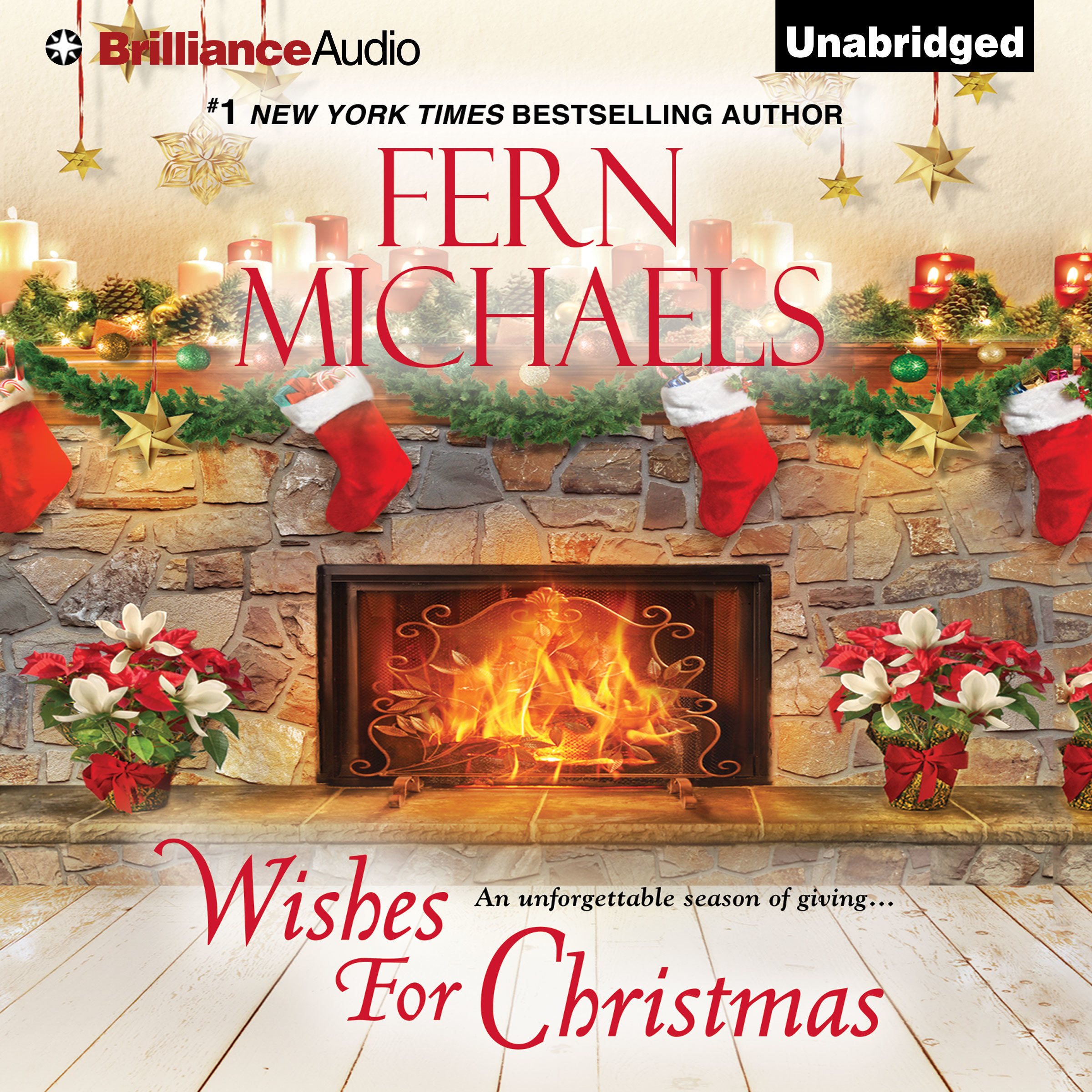 Printable Wishes for Christmas Audiobook Cover Art