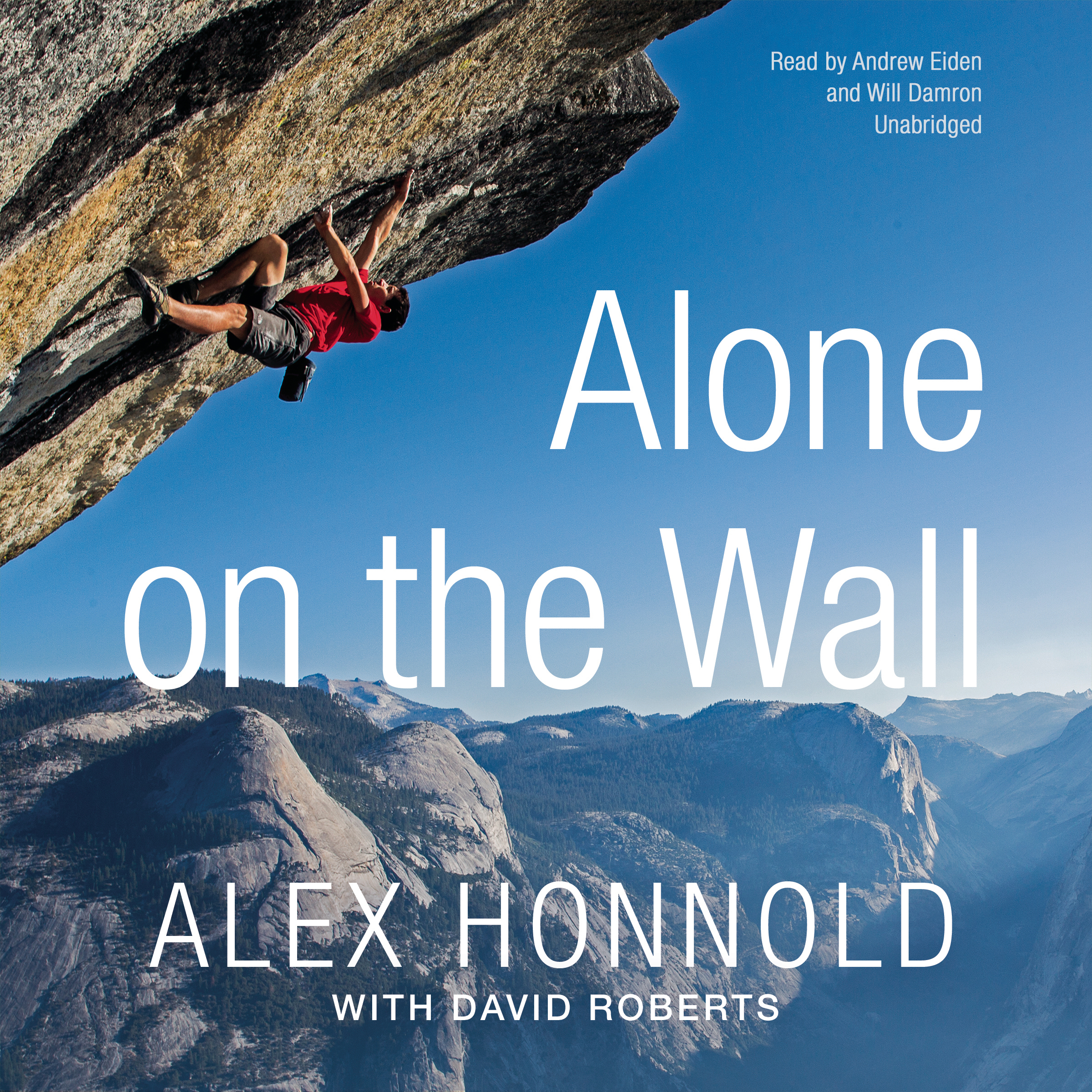 Printable Alone on the Wall Audiobook Cover Art