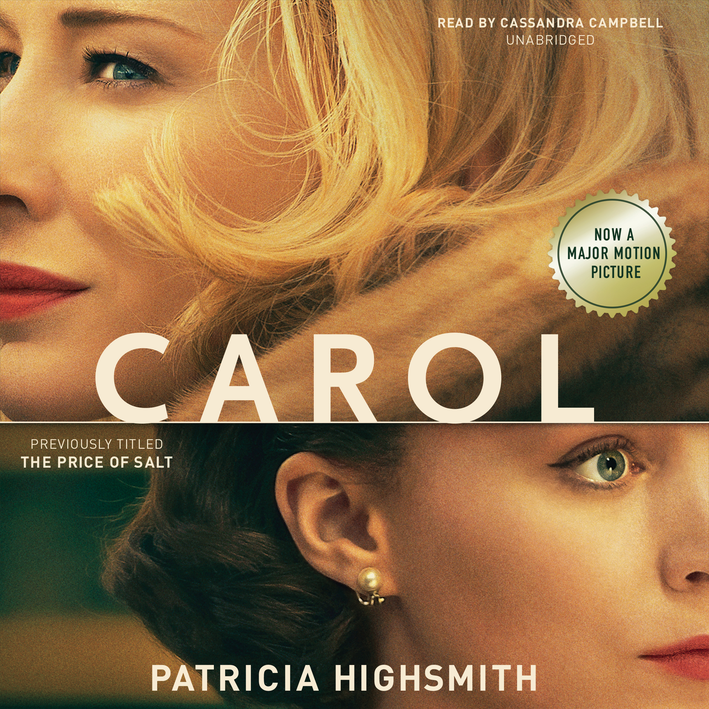 Printable Carol: The Price of Salt Audiobook Cover Art