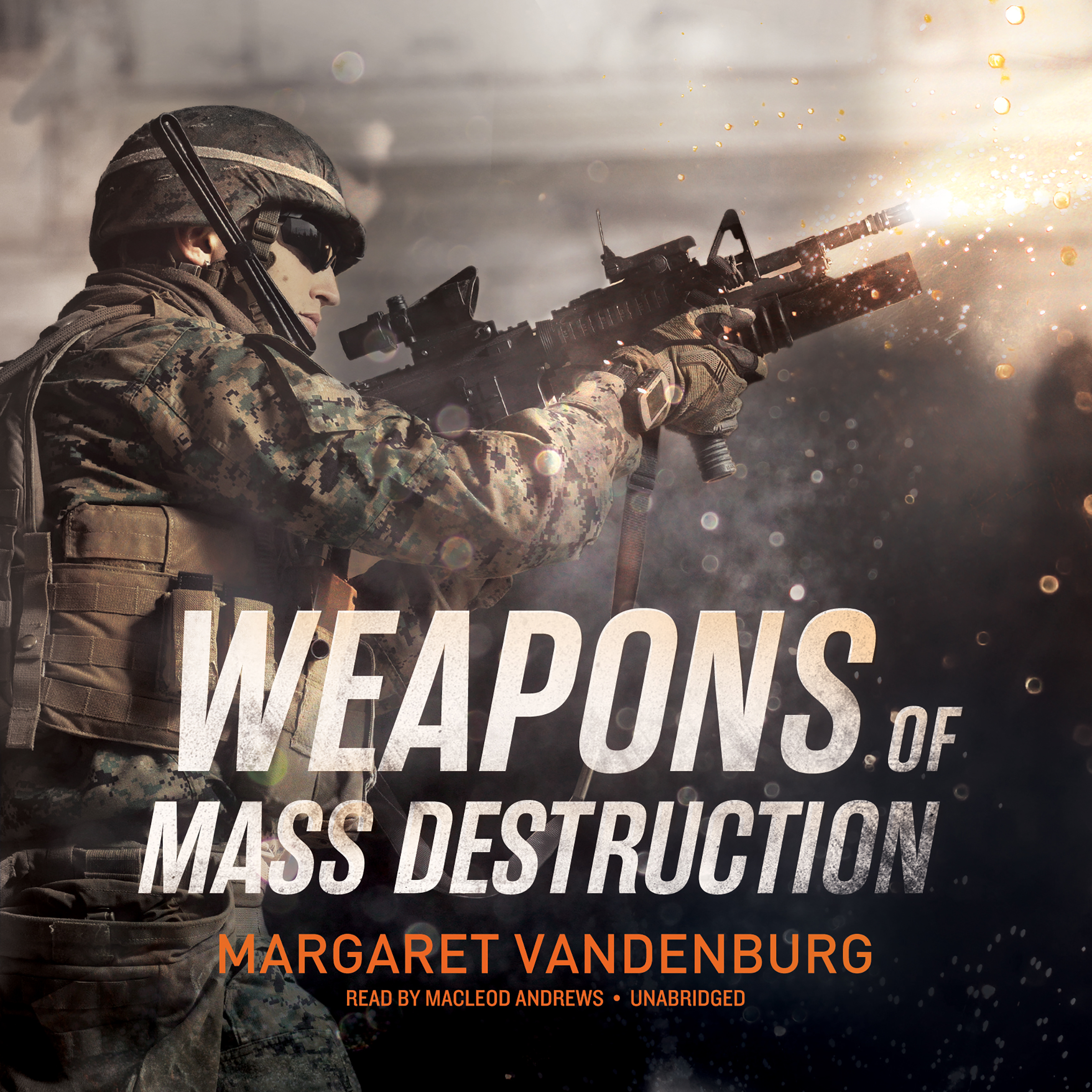 Printable Weapons of Mass Destruction Audiobook Cover Art