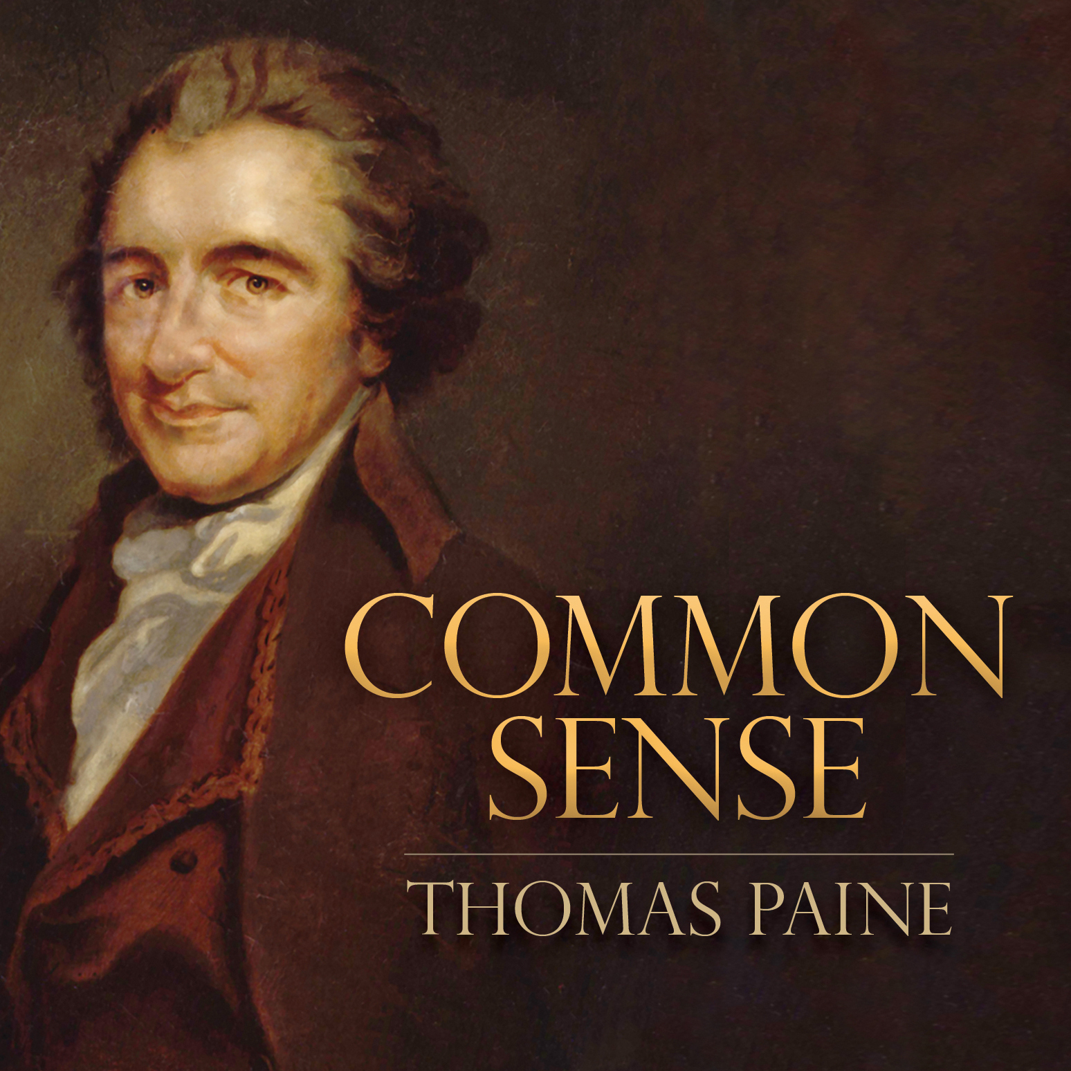 Printable Common Sense Audiobook Cover Art