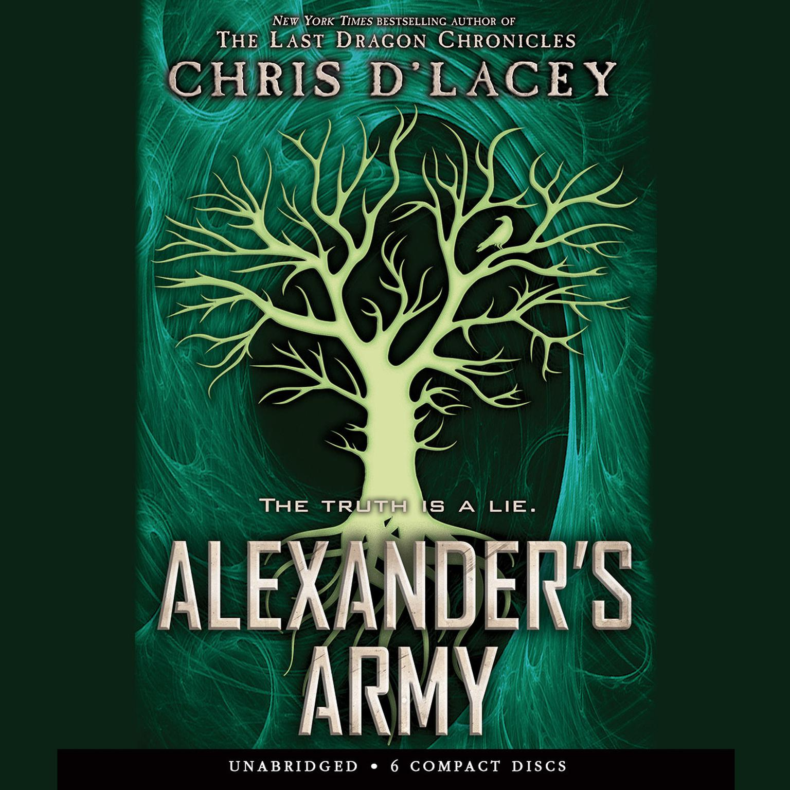 Printable Alexander's Army Audiobook Cover Art