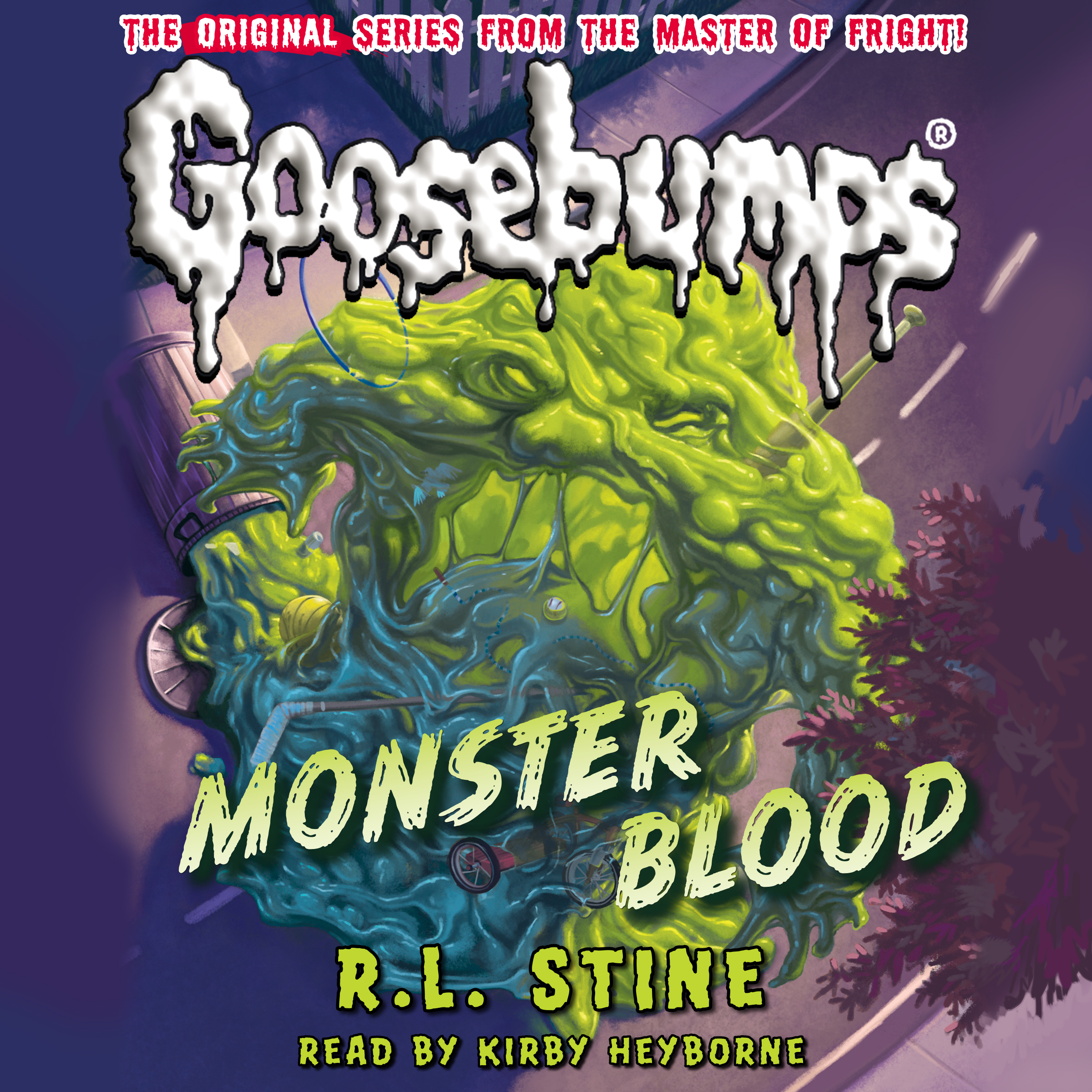 Printable Monster Blood Audiobook Cover Art