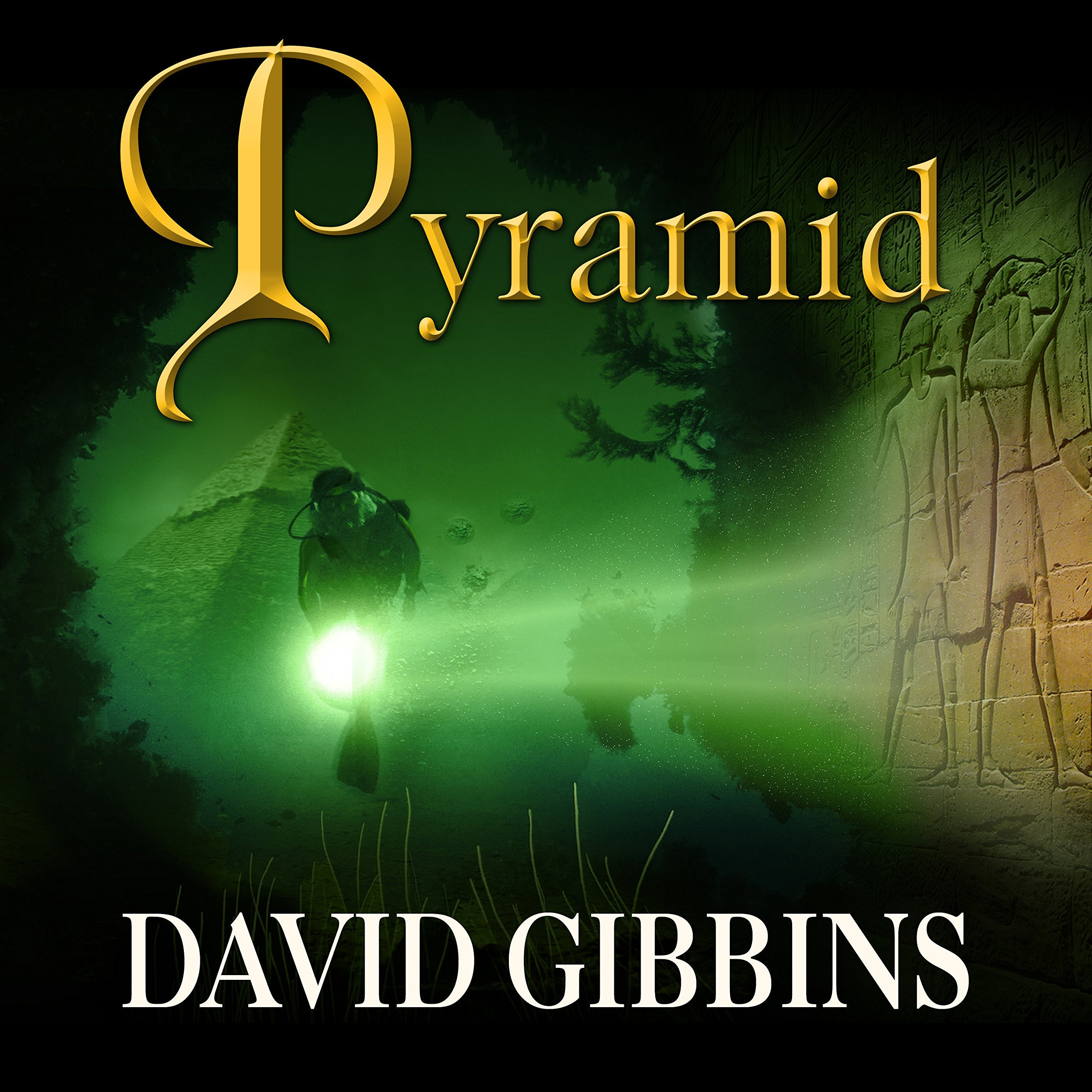 Printable Pyramid: A Novel Audiobook Cover Art