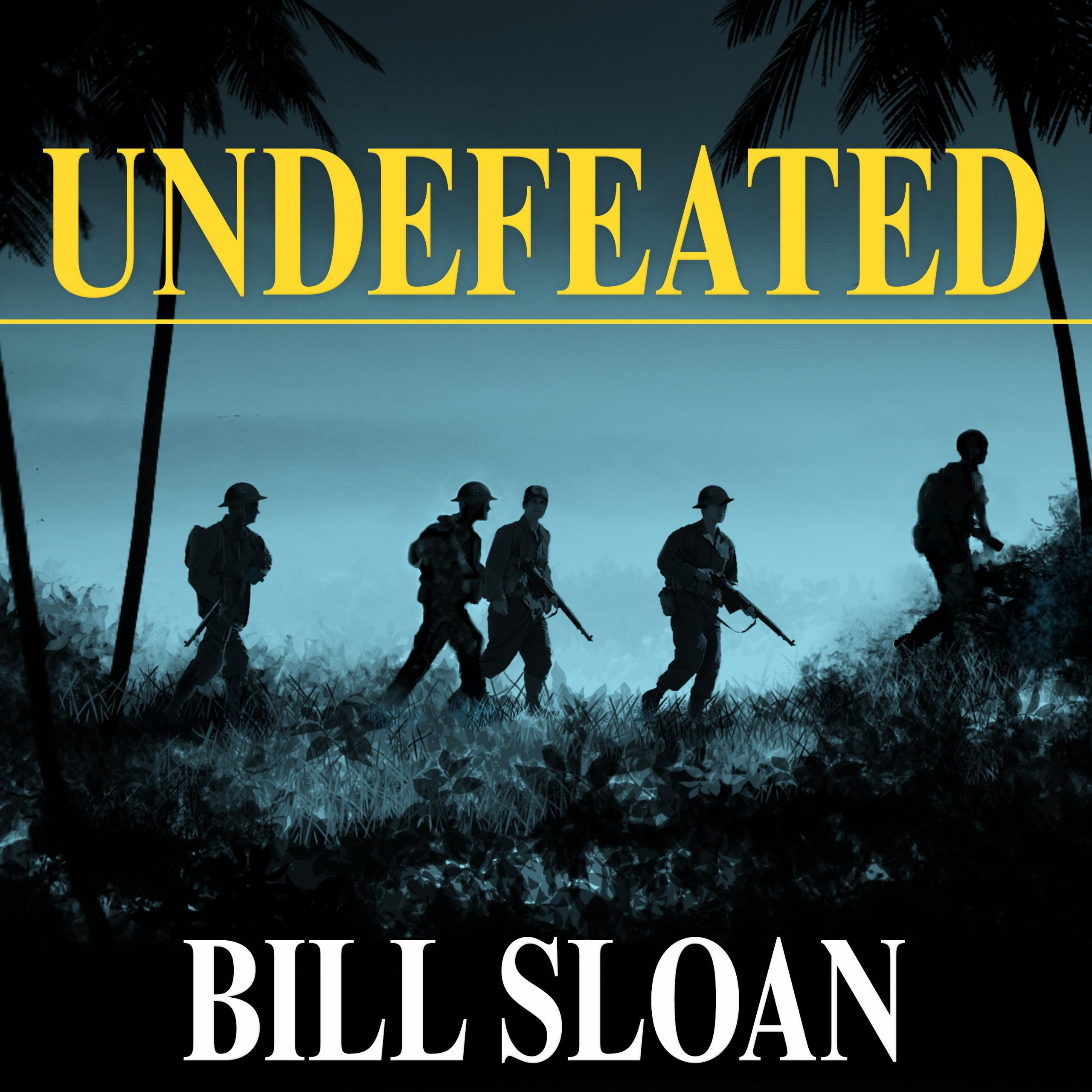 Printable Undefeated: America's Heroic Fight for Bataan and Corregidor Audiobook Cover Art
