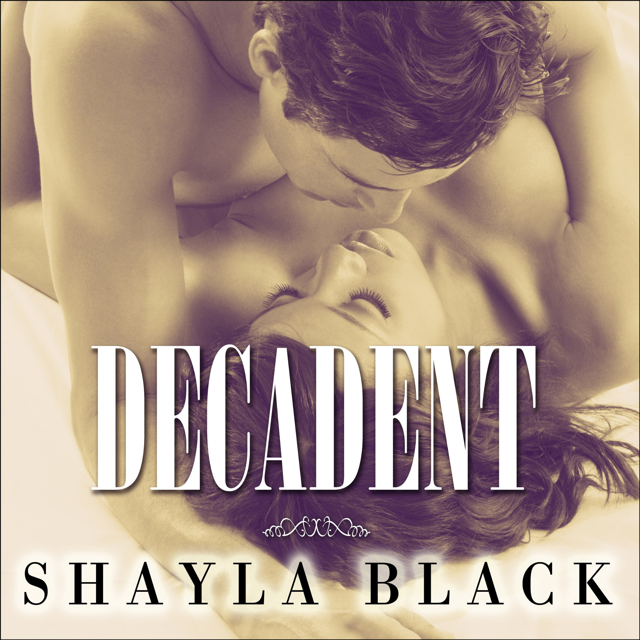 Printable Decadent Audiobook Cover Art