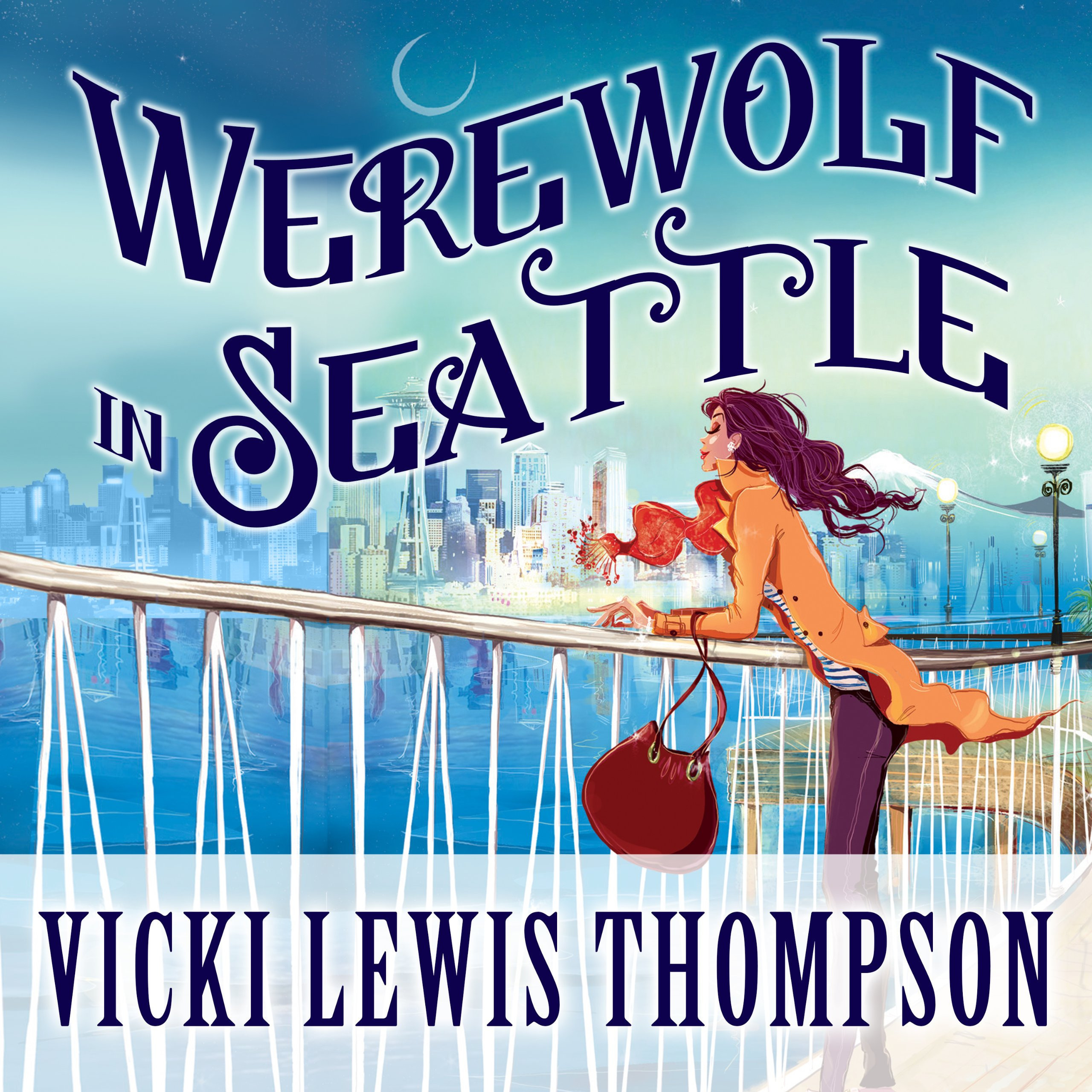 Printable Werewolf in Seattle Audiobook Cover Art