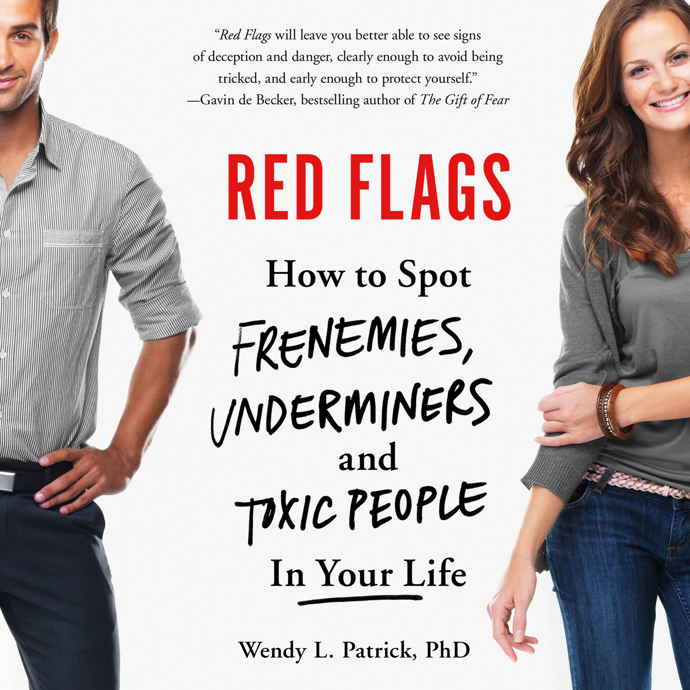 Printable Red Flags: How to Spot Frenemies, Underminers, and Toxic People in Your Life Audiobook Cover Art