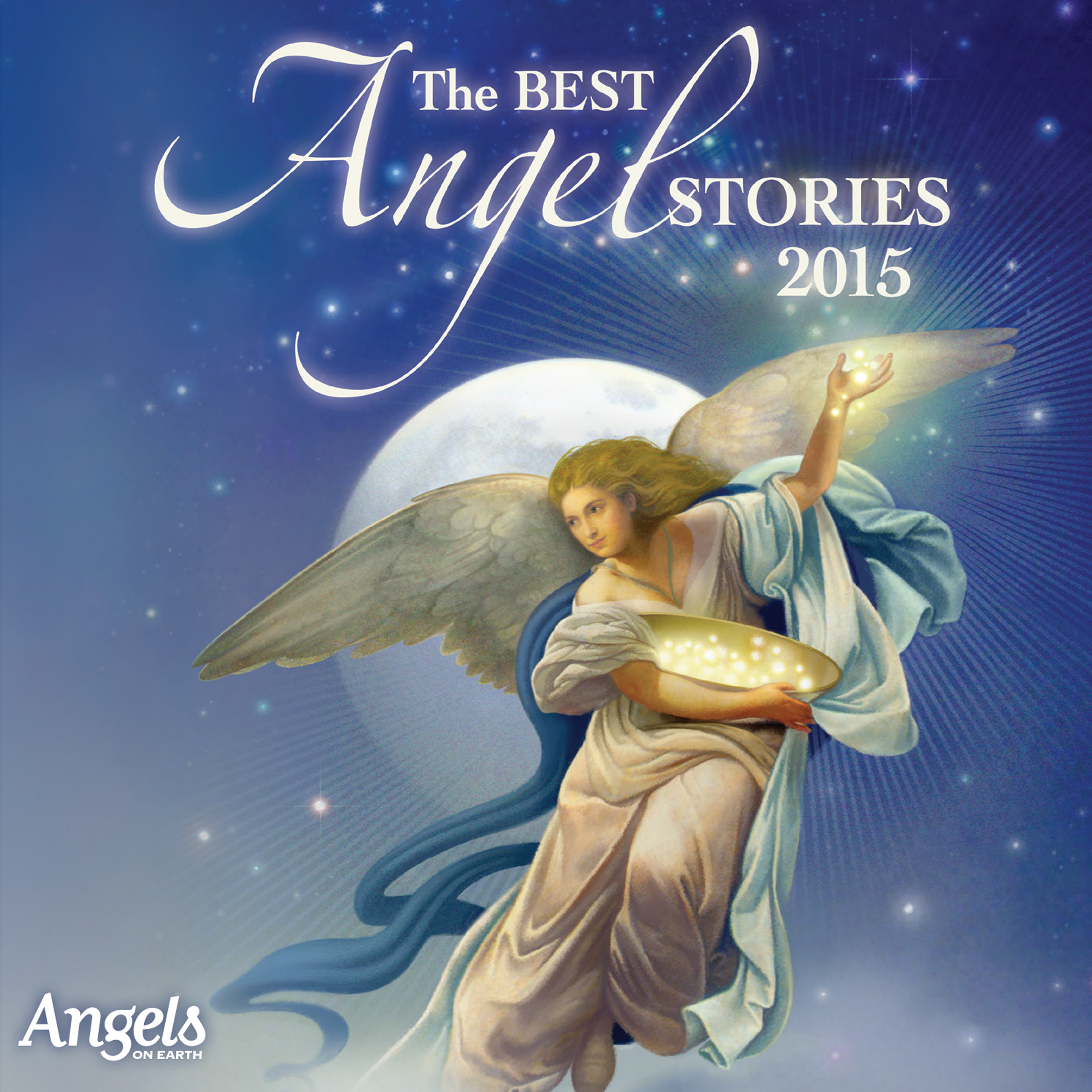 Printable The Best Angel Stories 2015 Audiobook Cover Art