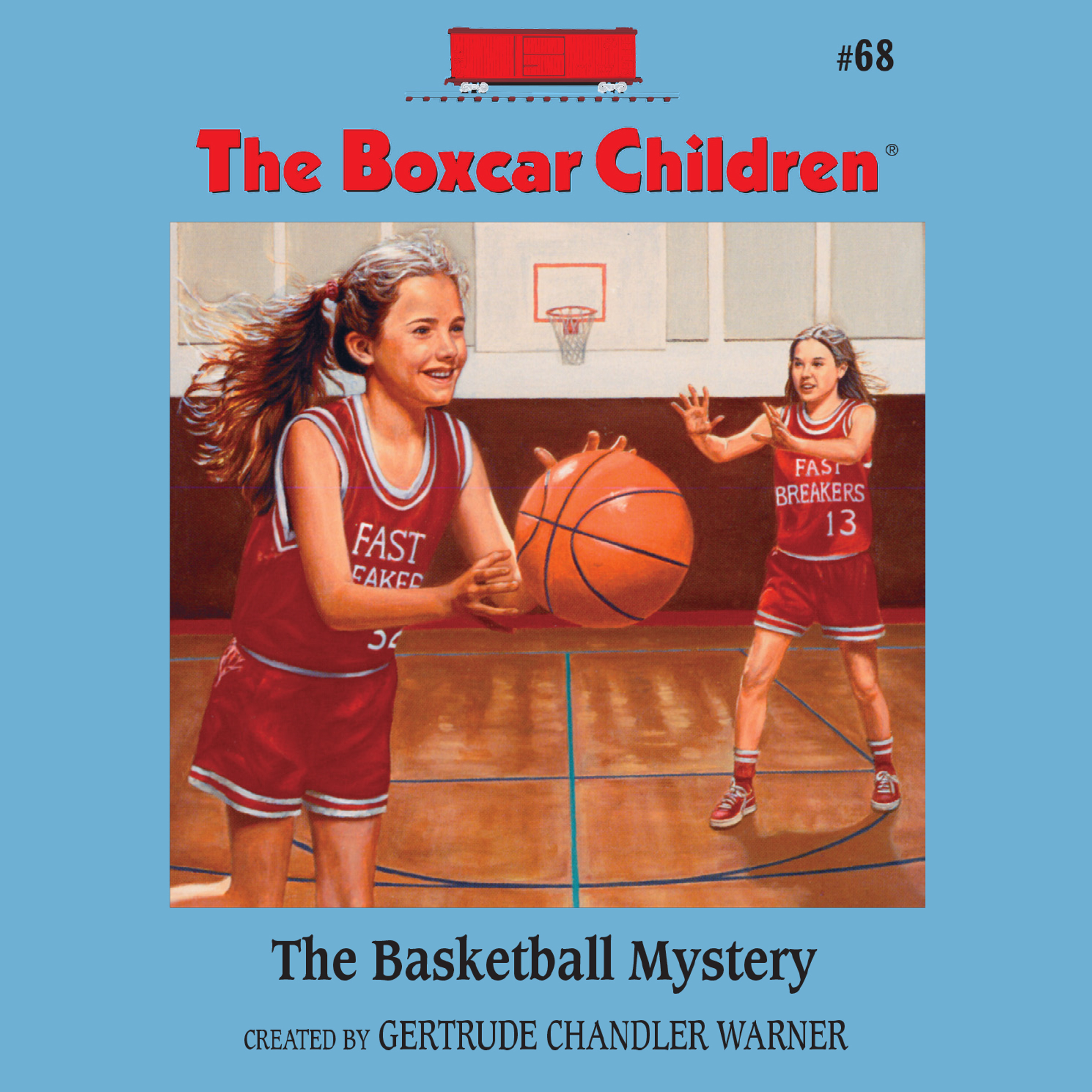 Printable The Basketball Mystery Audiobook Cover Art