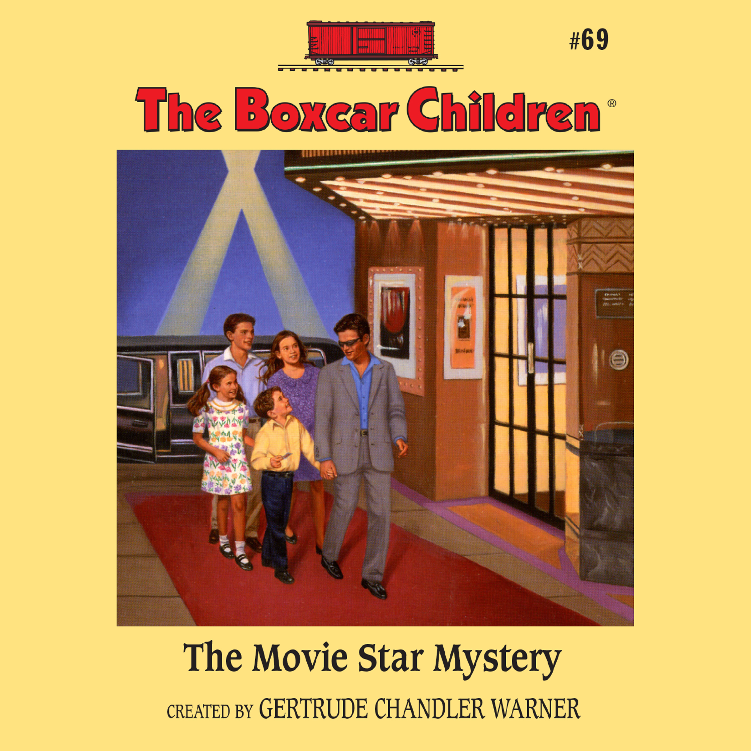 Printable The Movie Star Mystery Audiobook Cover Art