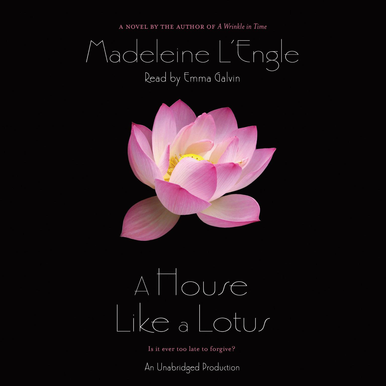 Printable A House Like a Lotus Audiobook Cover Art