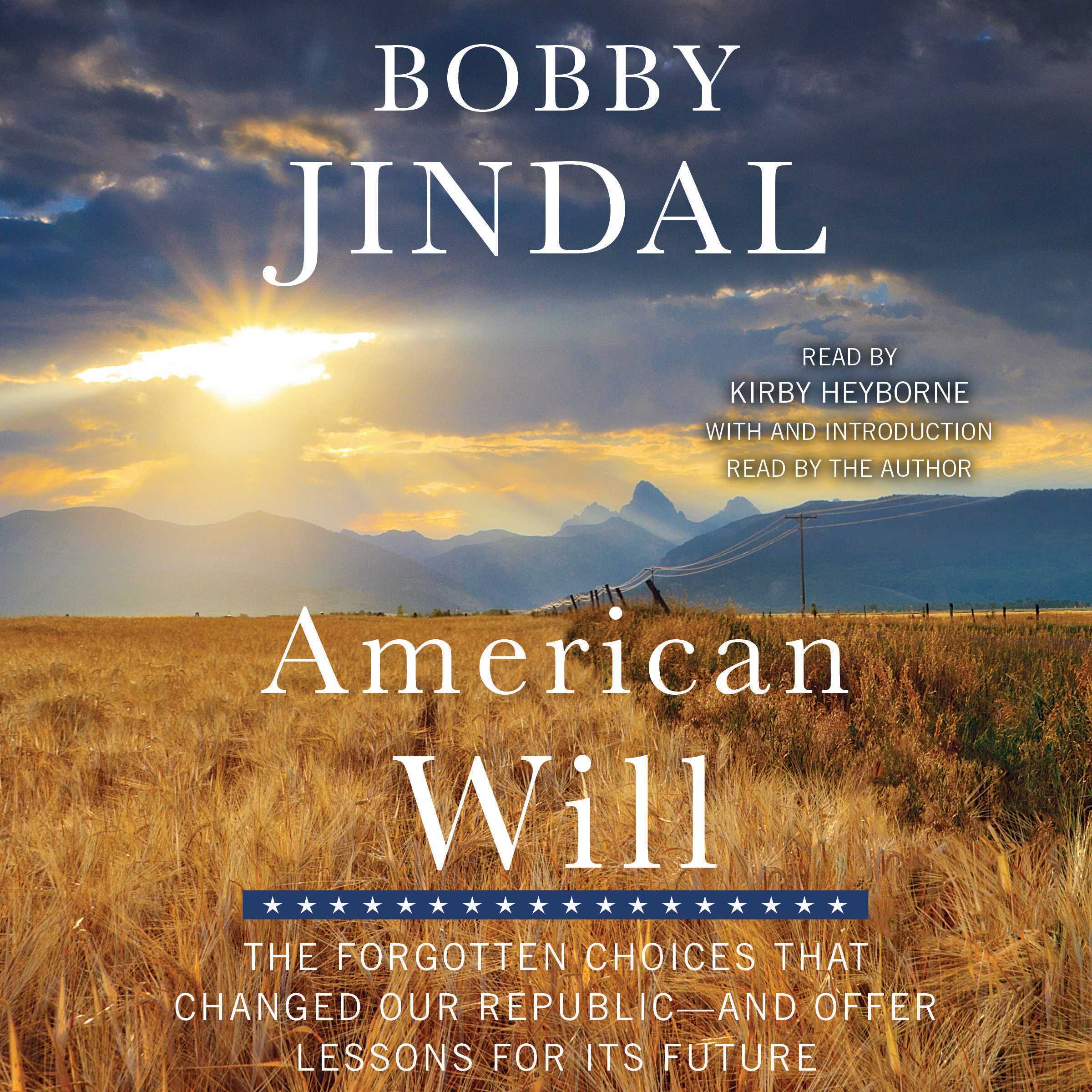 Printable American Will: The Forgotten Choices That Changed Our Republic Audiobook Cover Art