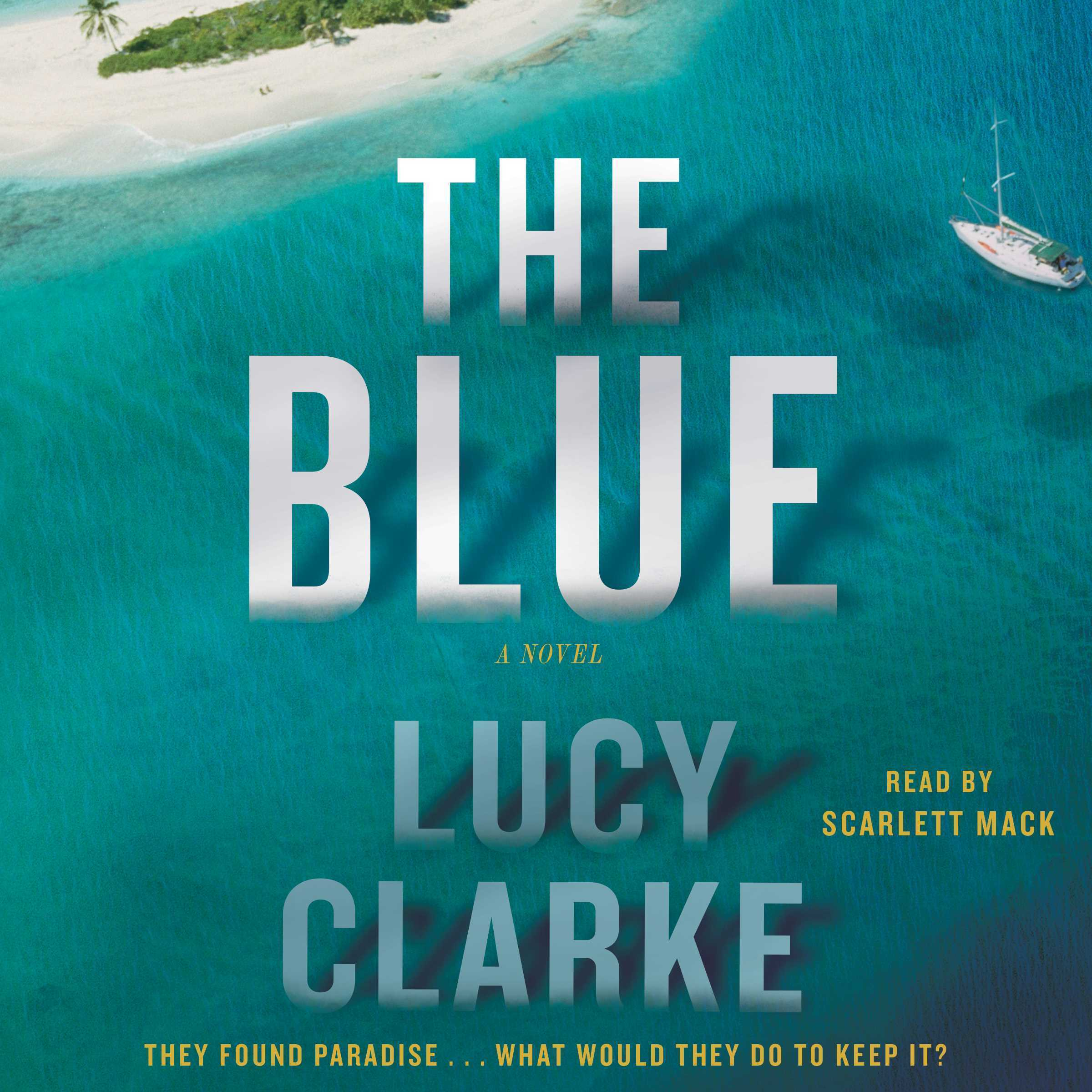 Printable The Blue: A Novel Audiobook Cover Art