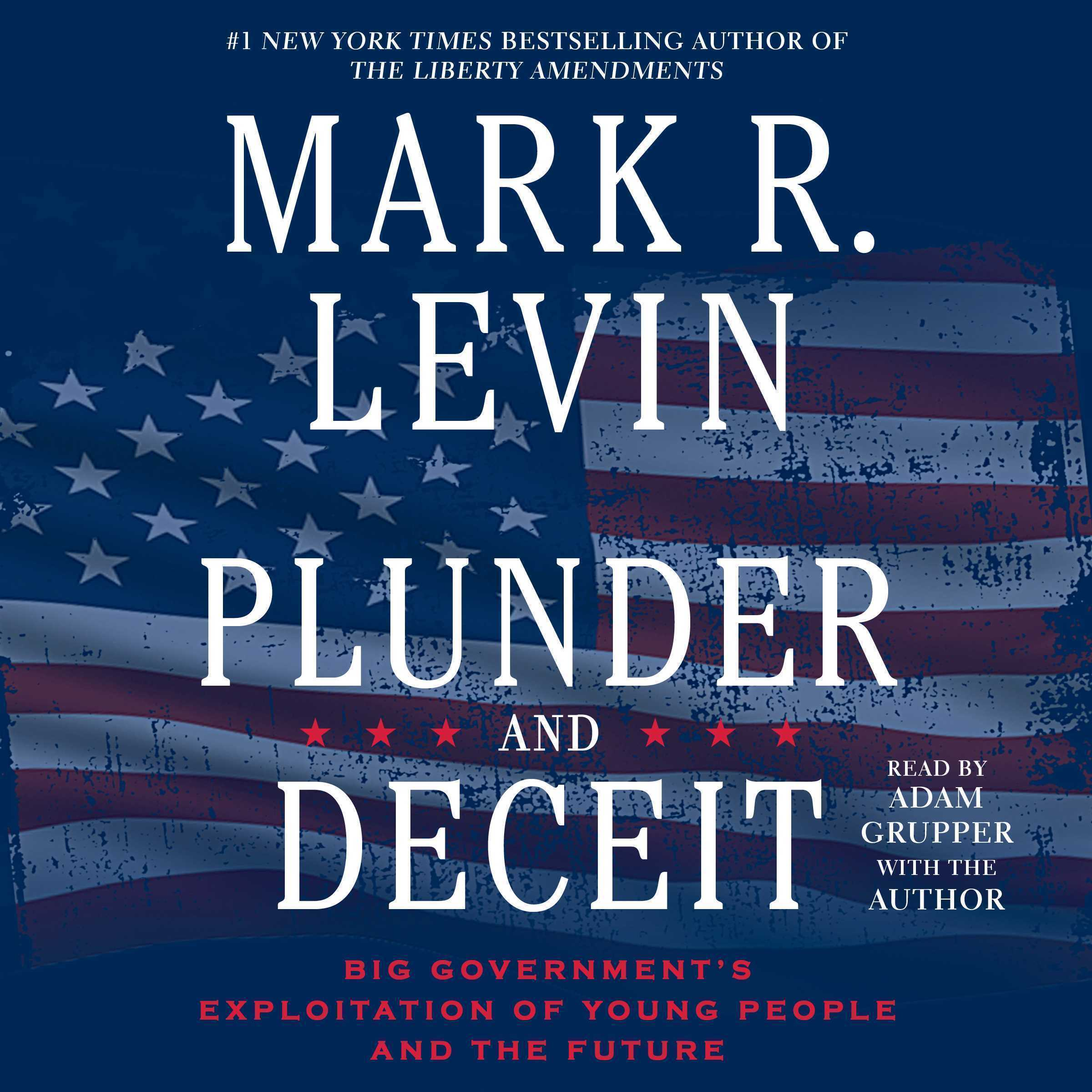 Printable Plunder and Deceit: Big Government's Exploitation of Young People and the Future Audiobook Cover Art