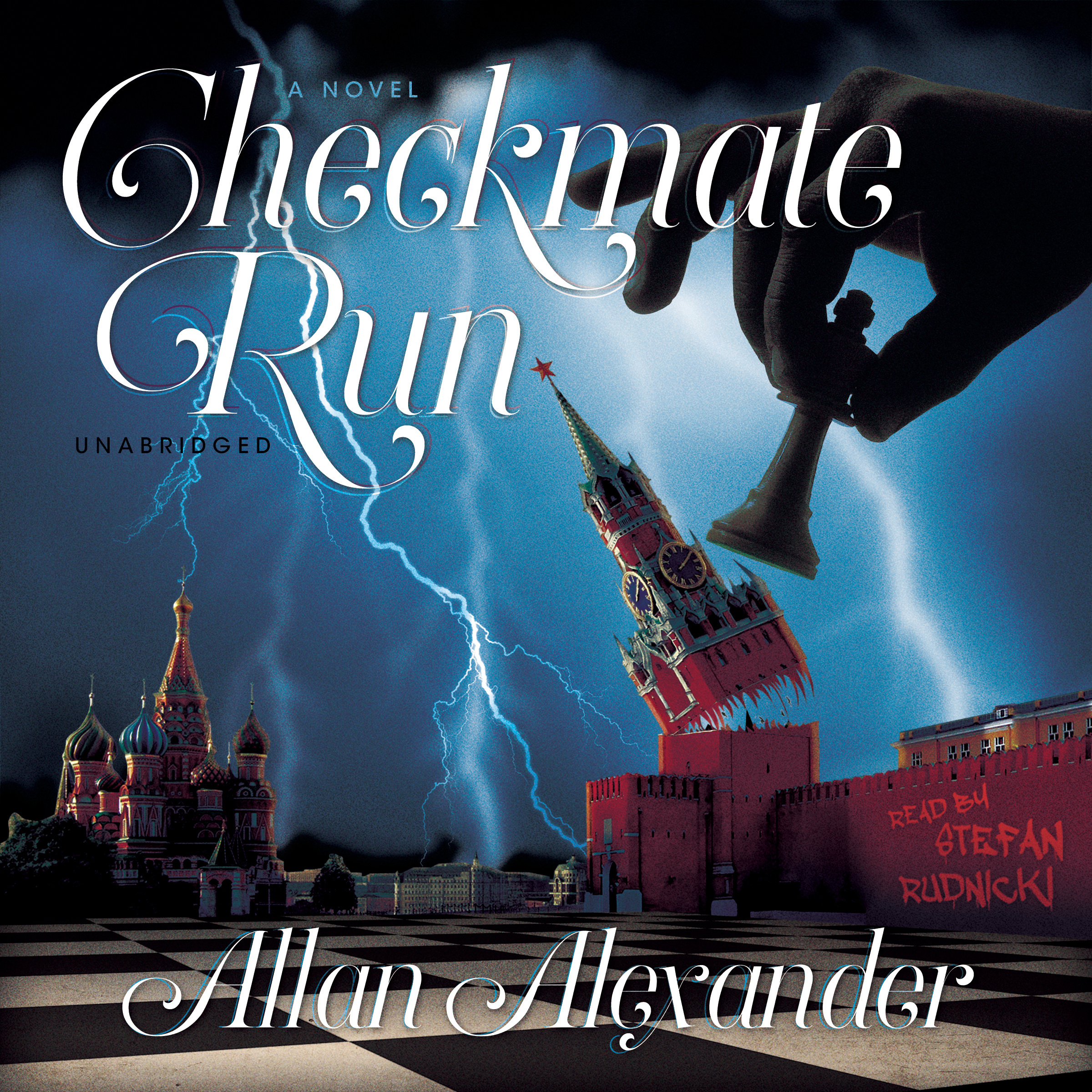Printable Checkmate Run Audiobook Cover Art