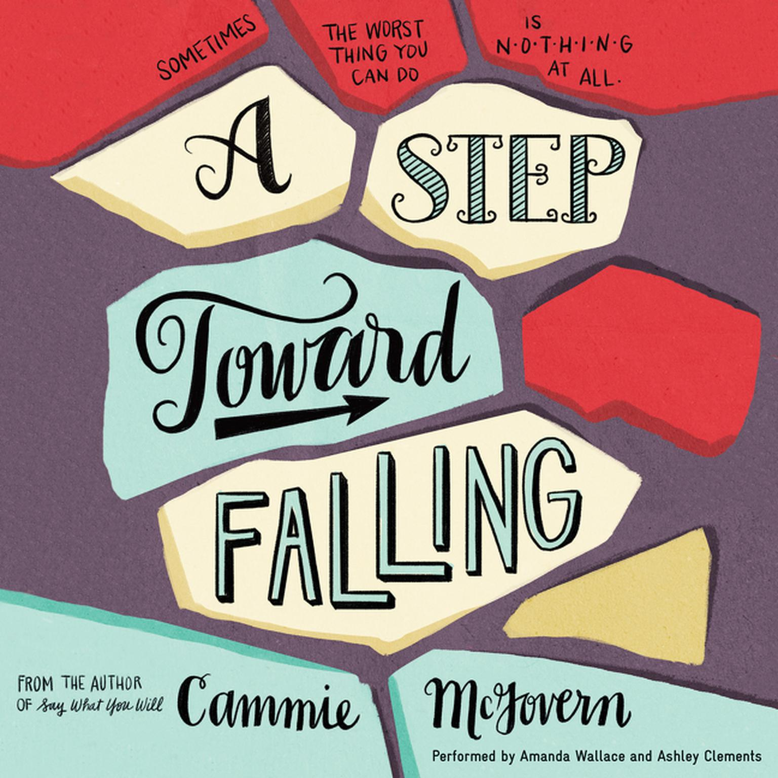 Printable A Step toward Falling: A Novel Audiobook Cover Art