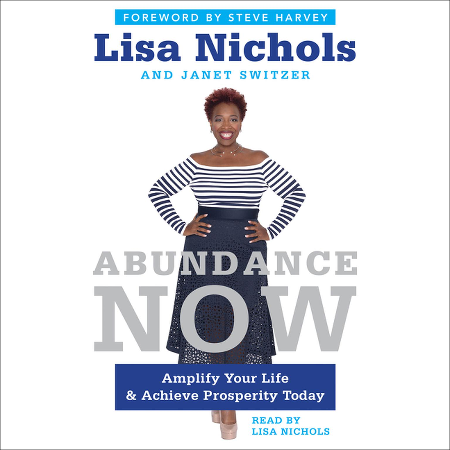 Printable Abundance Now: Amplify Your Life & Achieve Prosperity Today Audiobook Cover Art