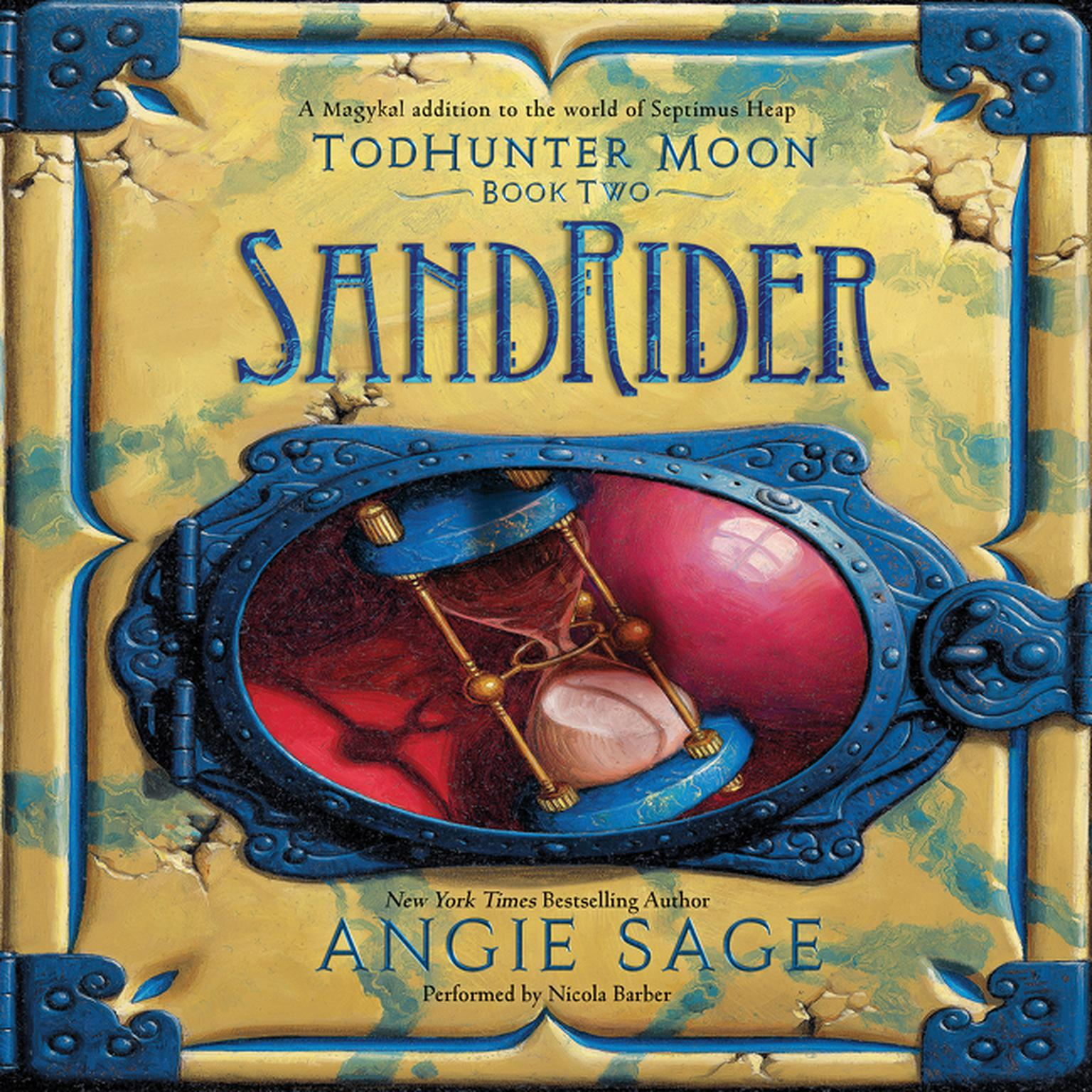 Printable TodHunter Moon, Book Two: SandRider Audiobook Cover Art