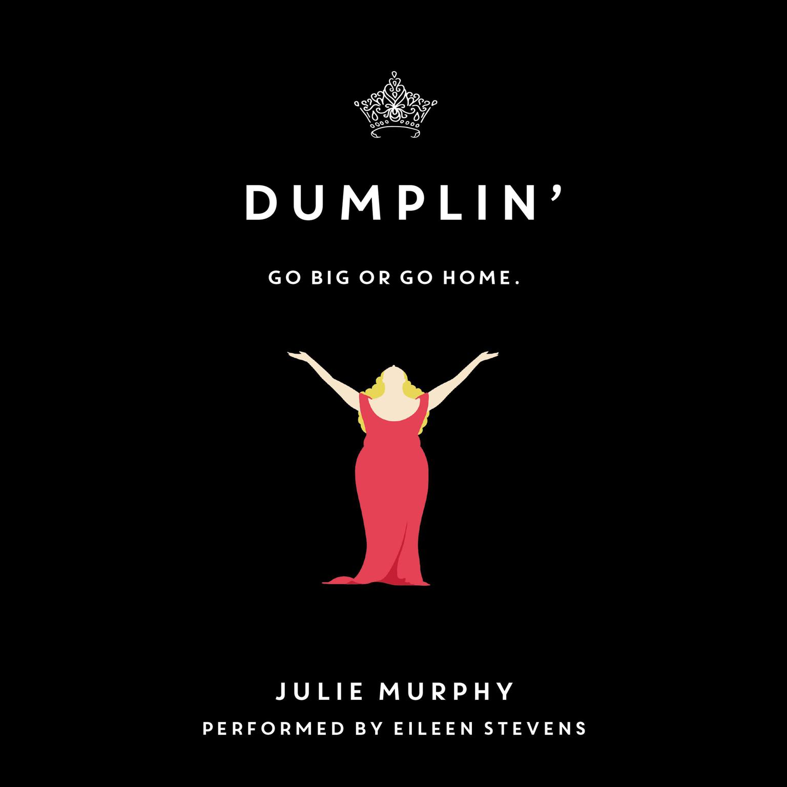 Printable Dumplin' Audiobook Cover Art
