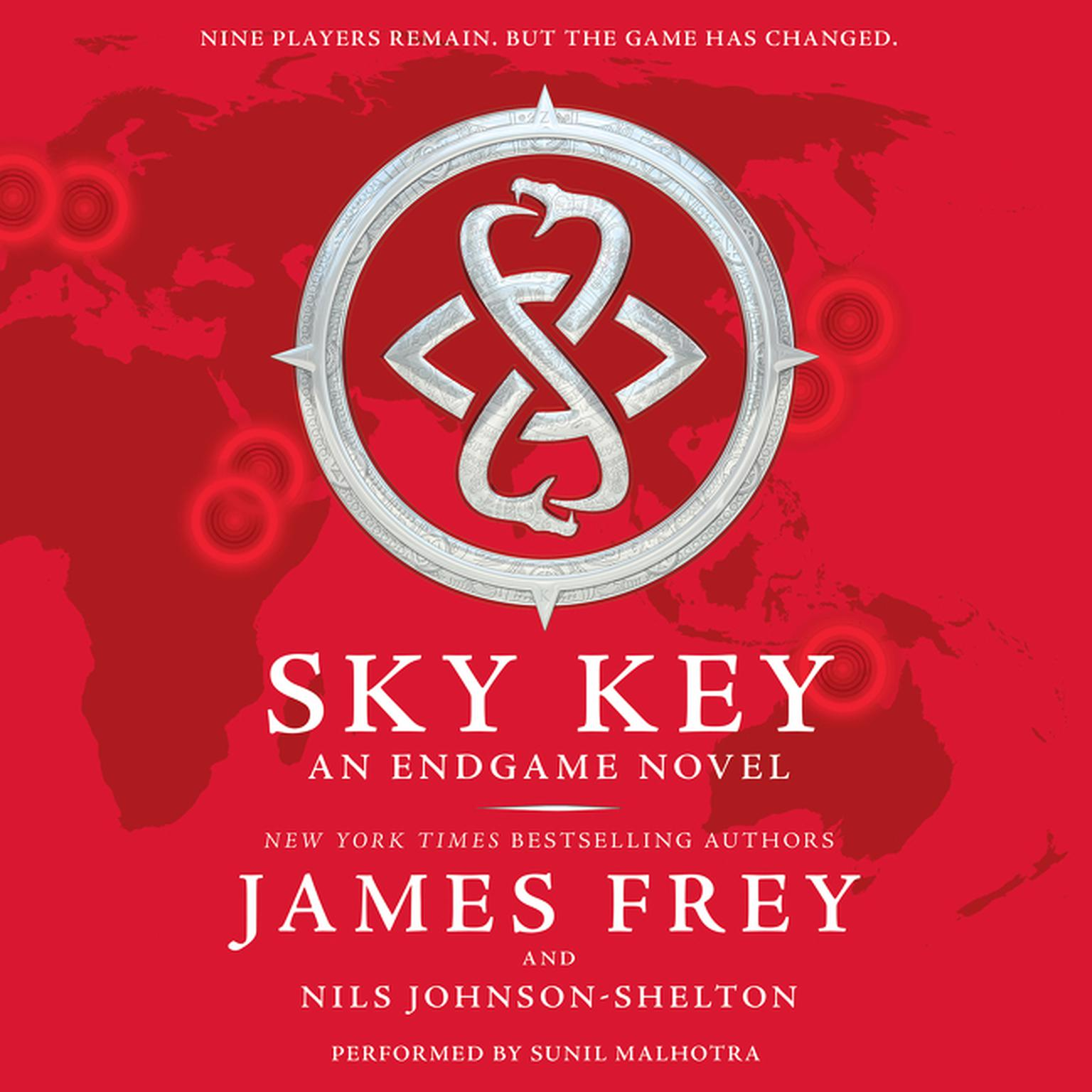 Printable Sky Key: An Endgame Novel Audiobook Cover Art