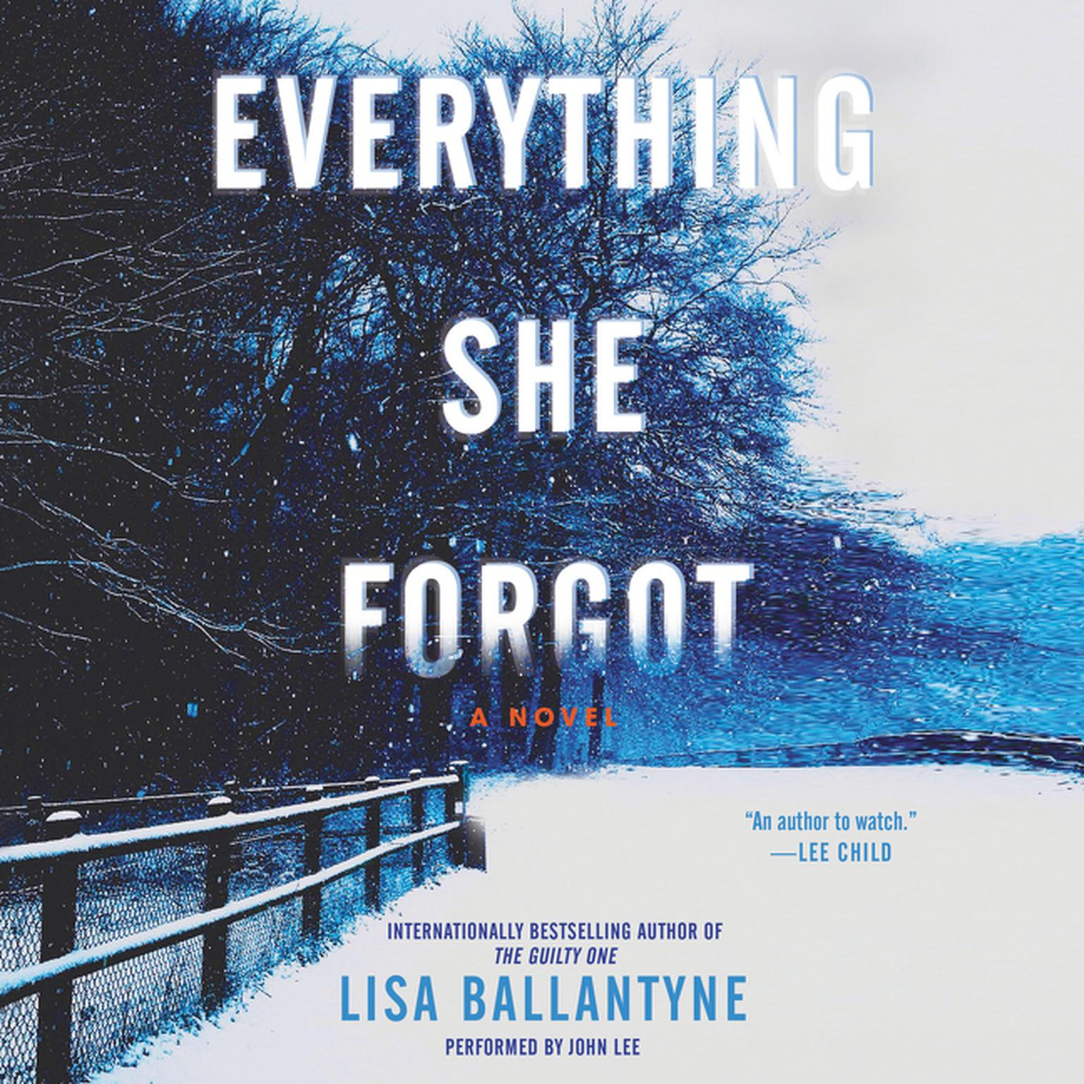 Printable Everything She Forgot: A Novel Audiobook Cover Art