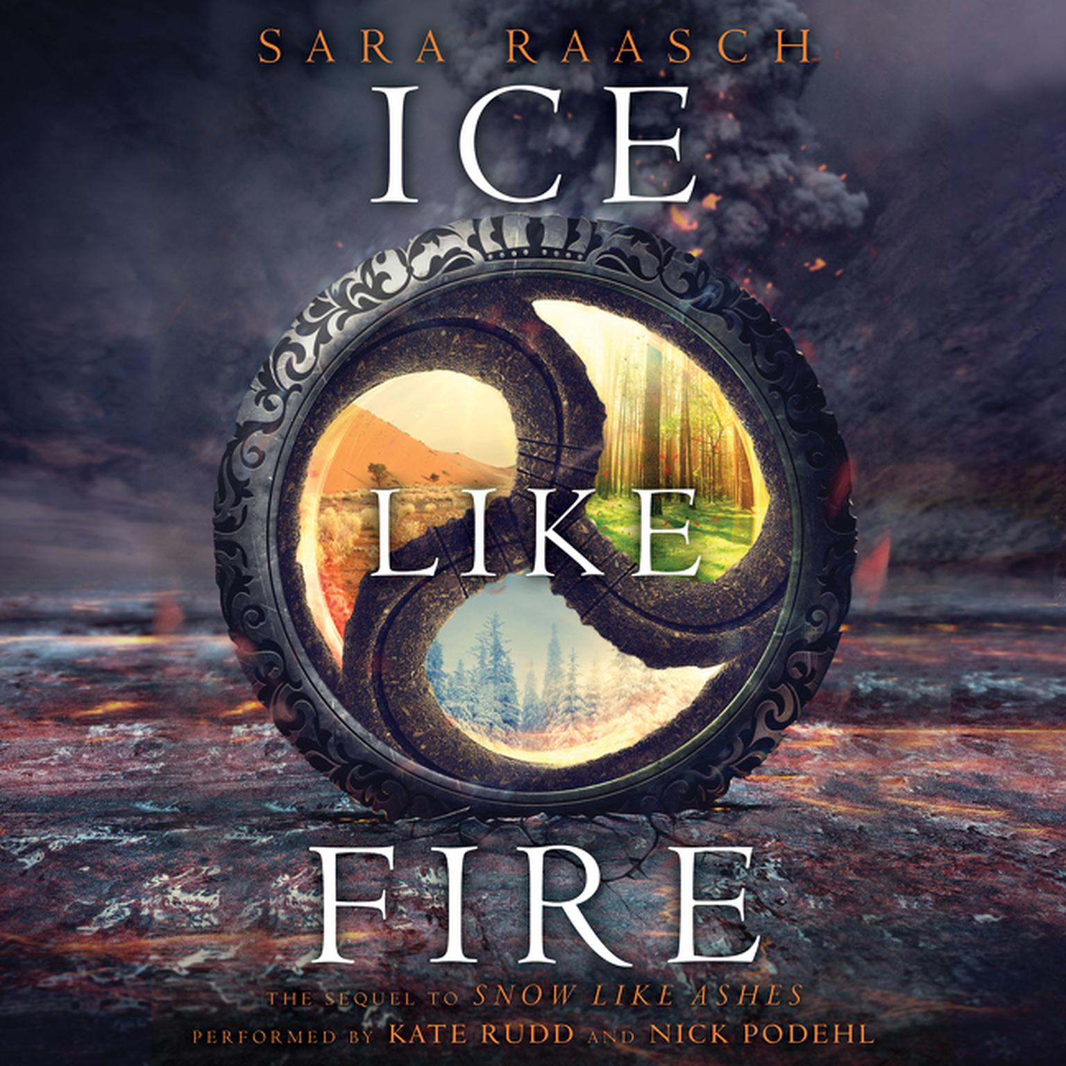 Printable Ice Like Fire Audiobook Cover Art