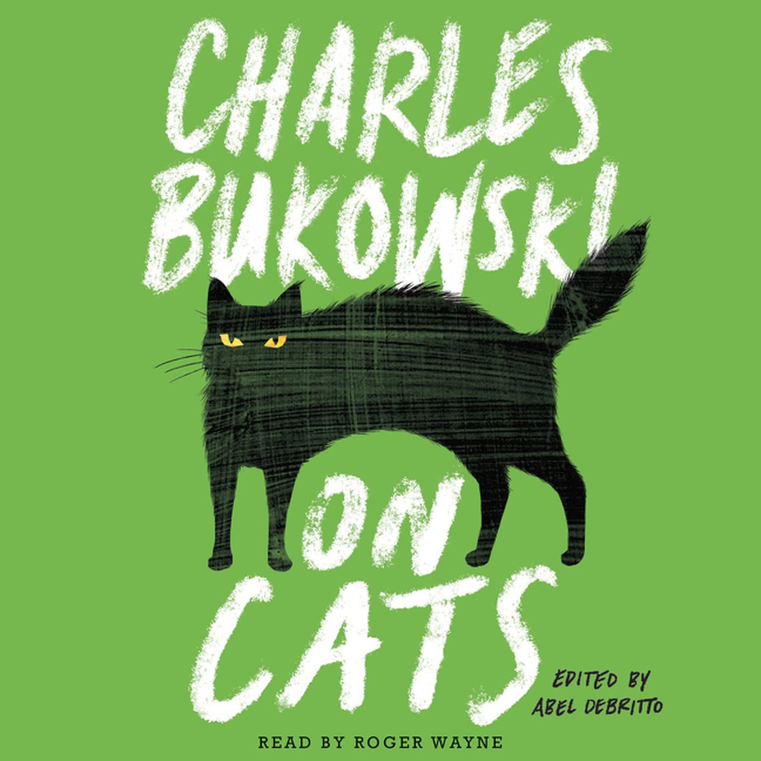 Printable On Cats Audiobook Cover Art