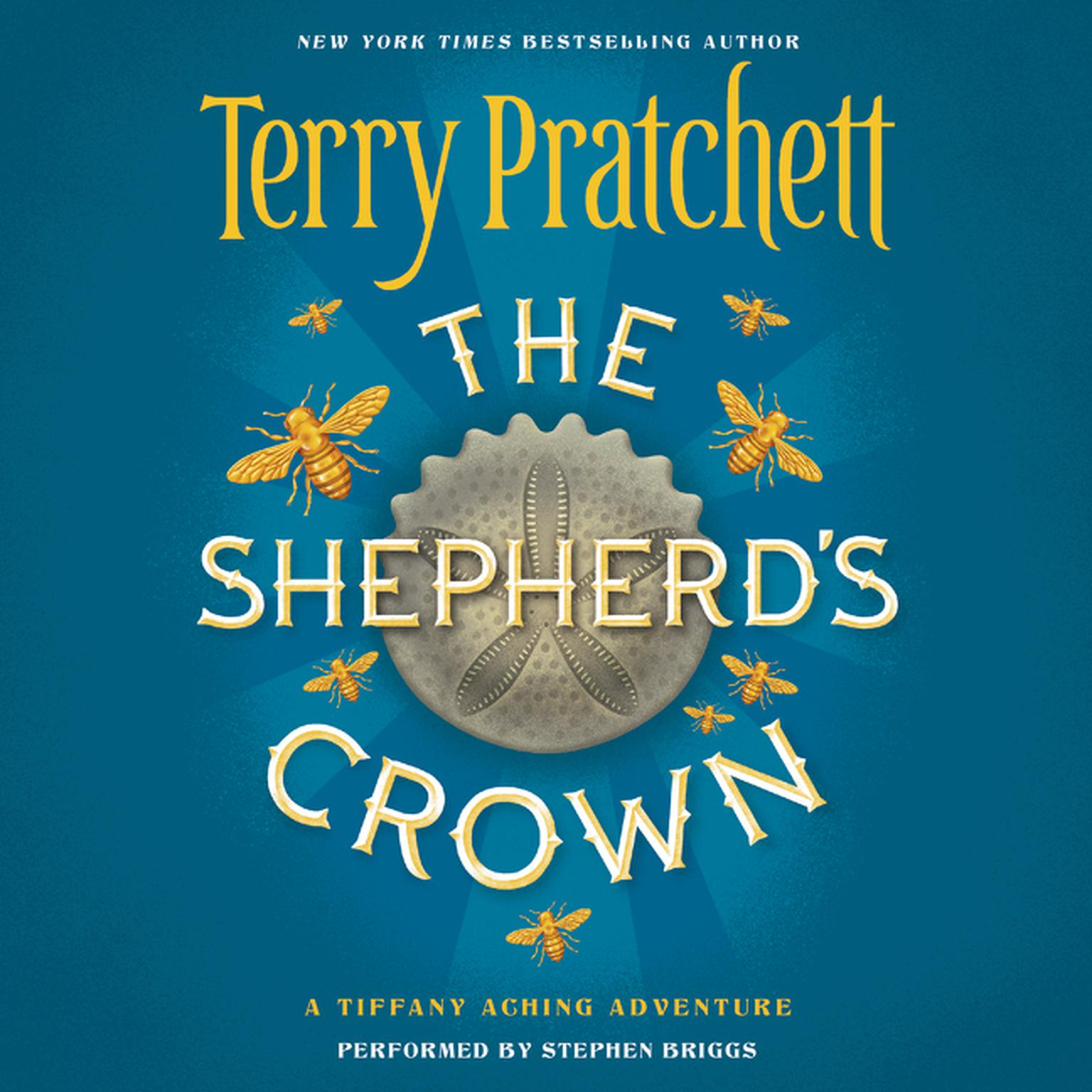 Printable The Shepherd's Crown Audiobook Cover Art
