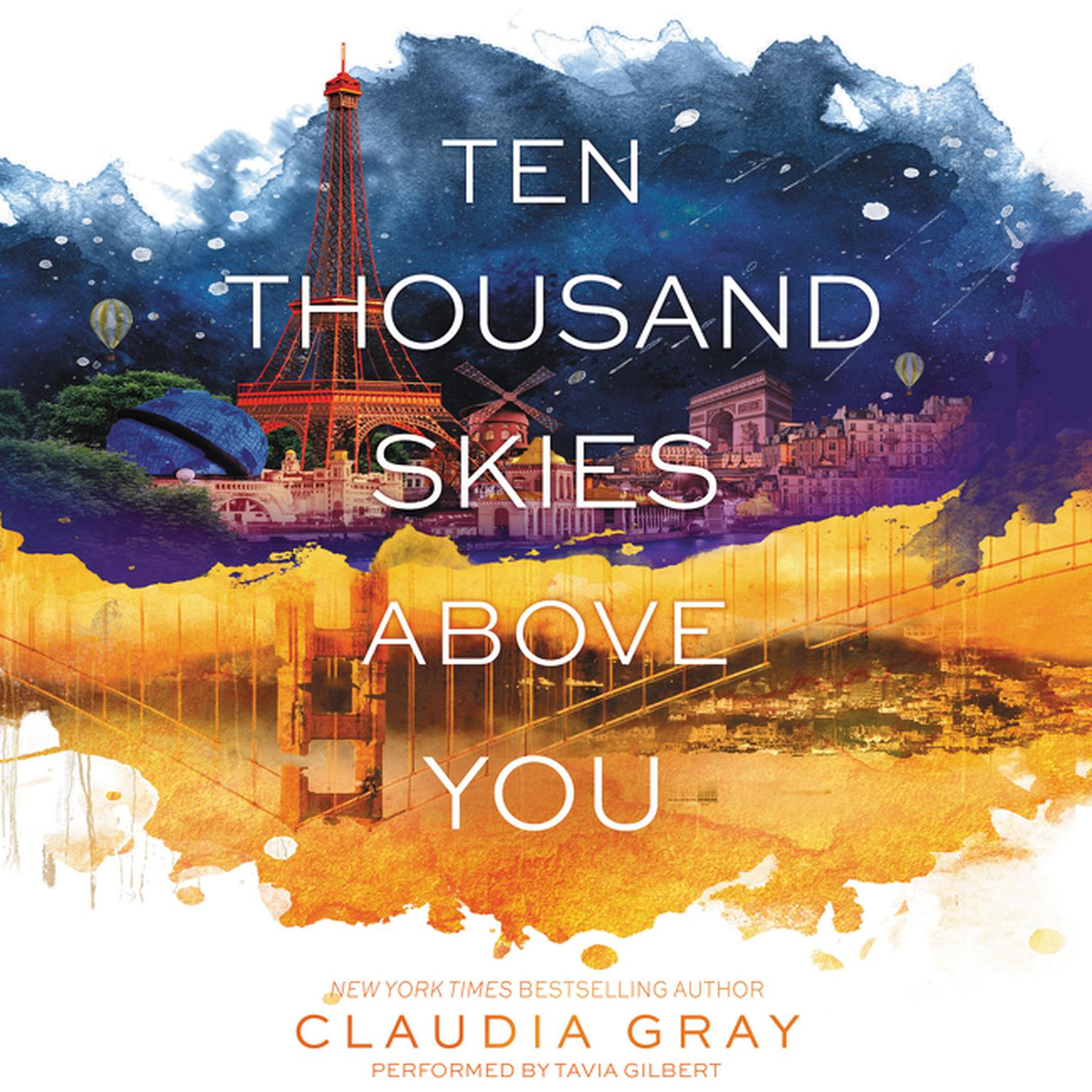 Printable Ten Thousand Skies above You: A Firebird Novel Audiobook Cover Art