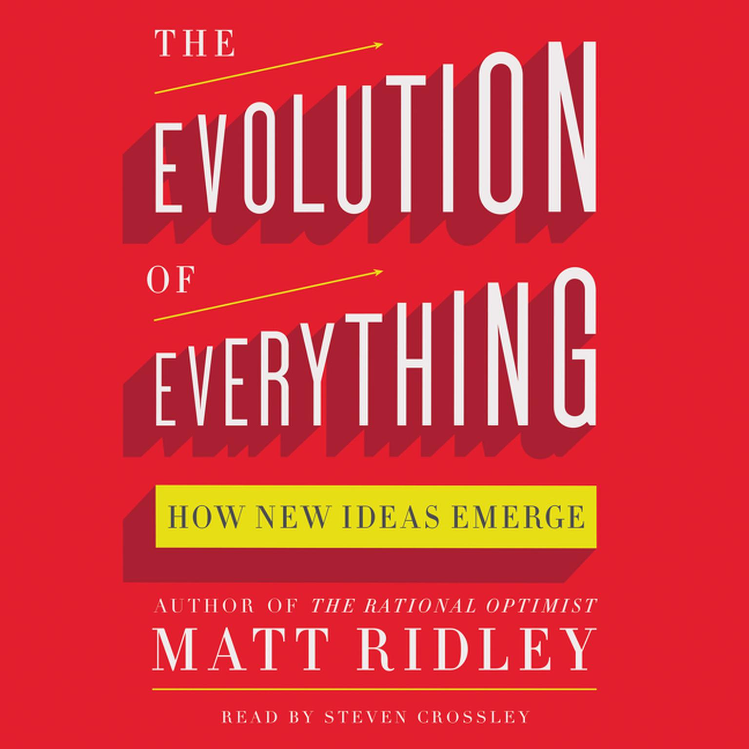Printable The Evolution of Everything: How New Ideas Emerge Audiobook Cover Art