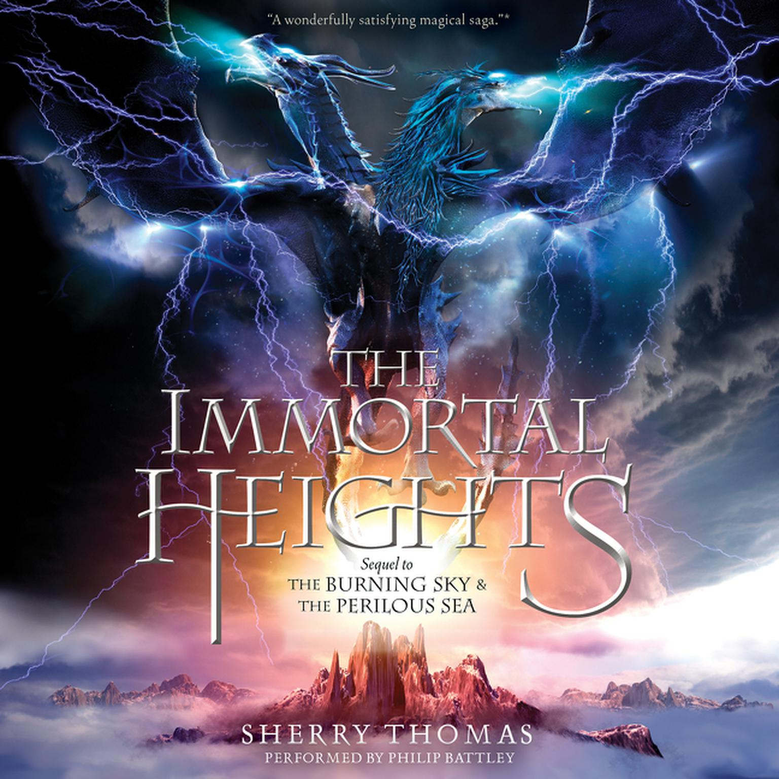 Printable The Immortal Heights Audiobook Cover Art