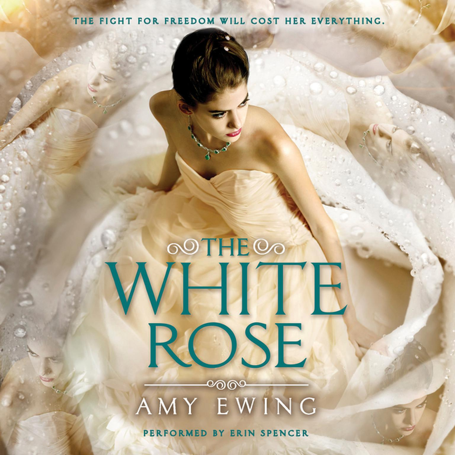 Printable The White Rose Audiobook Cover Art