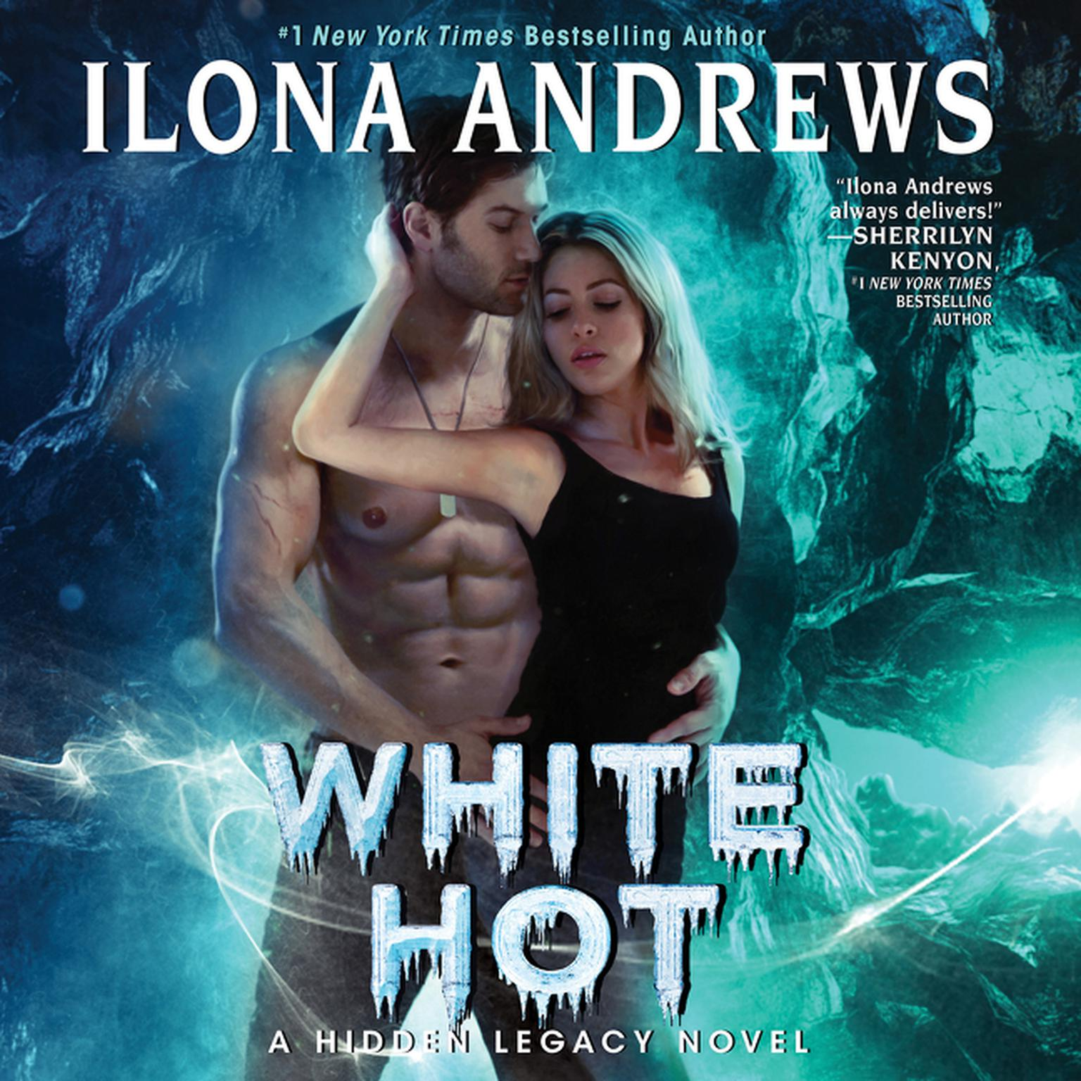 Printable White Hot: A Hidden Legacy Novel Audiobook Cover Art