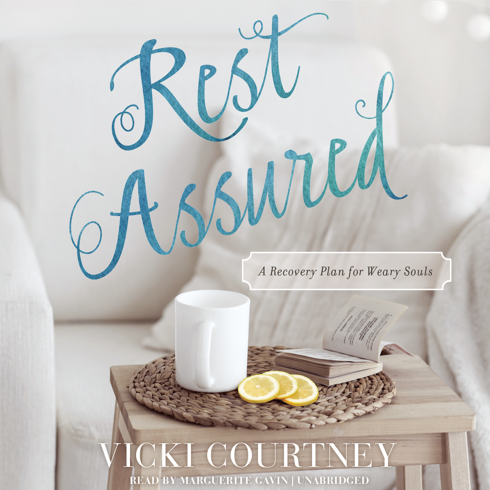 Printable Rest Assured: A Recovery Plan for Weary Souls Audiobook Cover Art