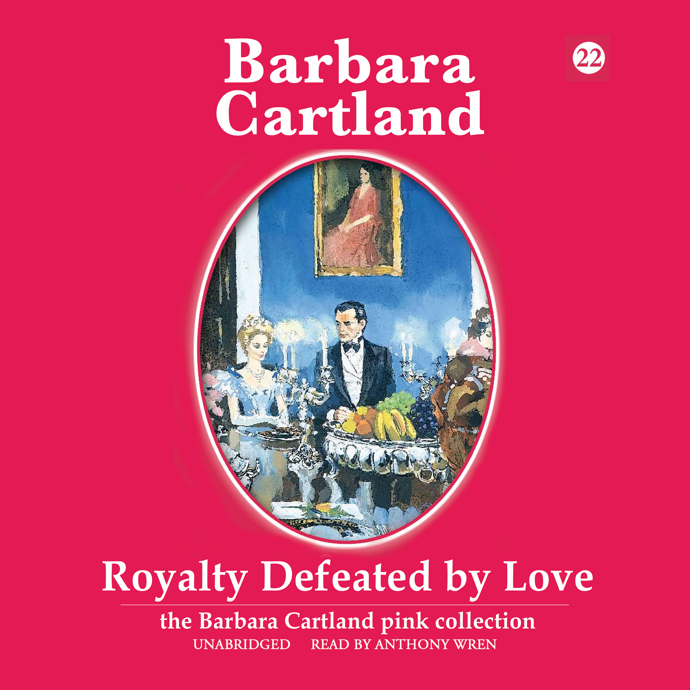 Printable Royalty Defeated by Love Audiobook Cover Art