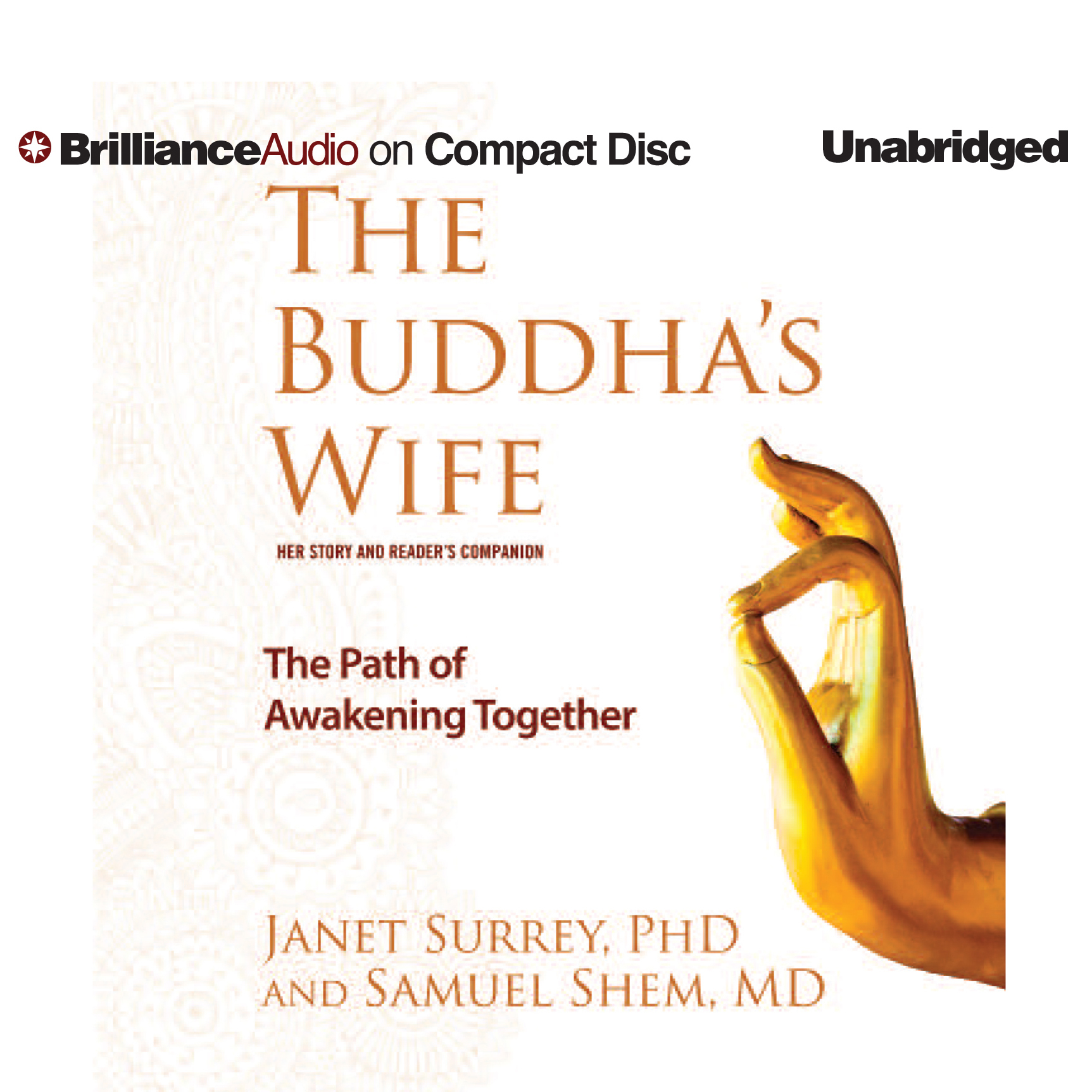 Printable The Buddha's Wife: The Path of Awakening Together Audiobook Cover Art