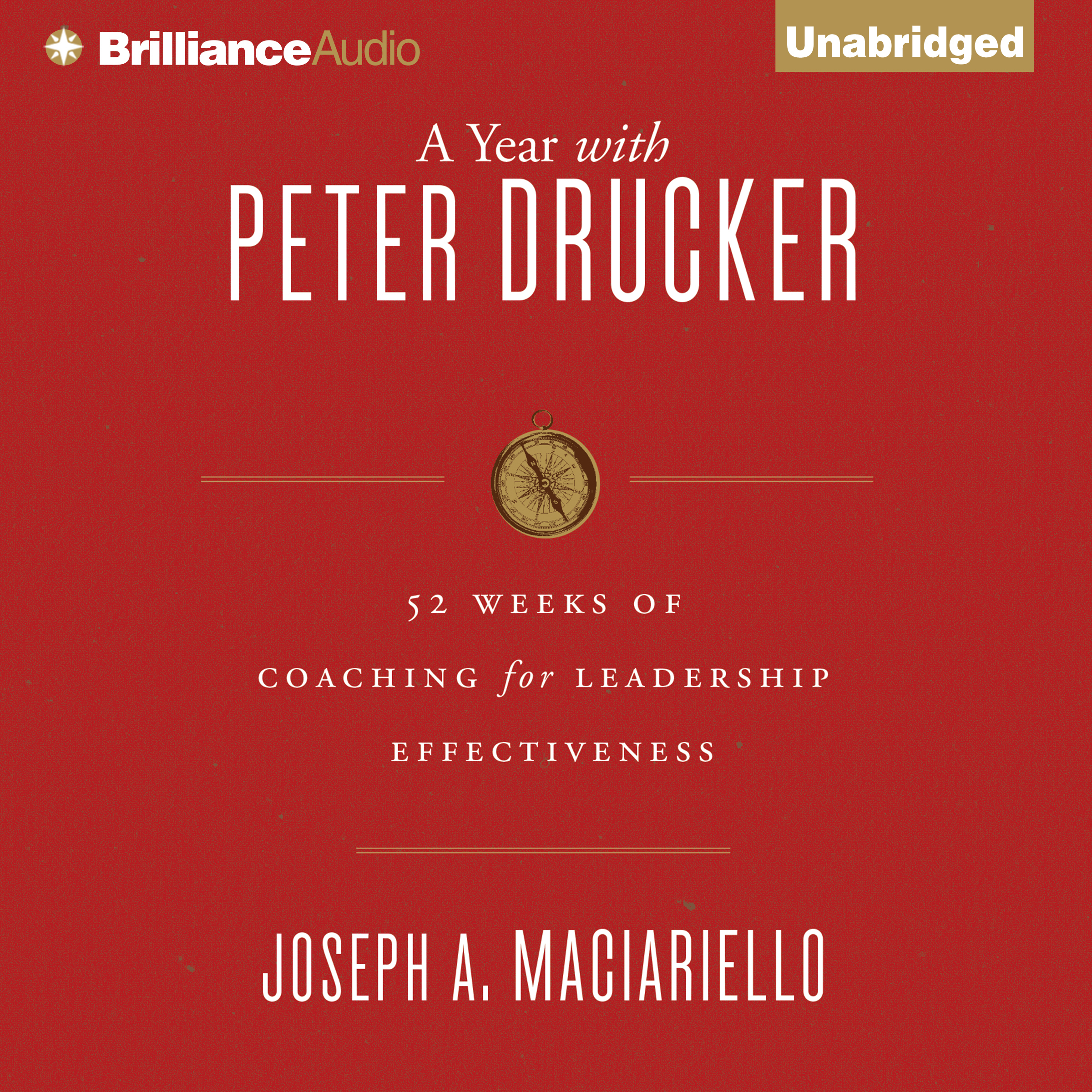 Printable A Year with Peter Drucker: 52 Weeks of Coaching for Leadership Effectiveness Audiobook Cover Art