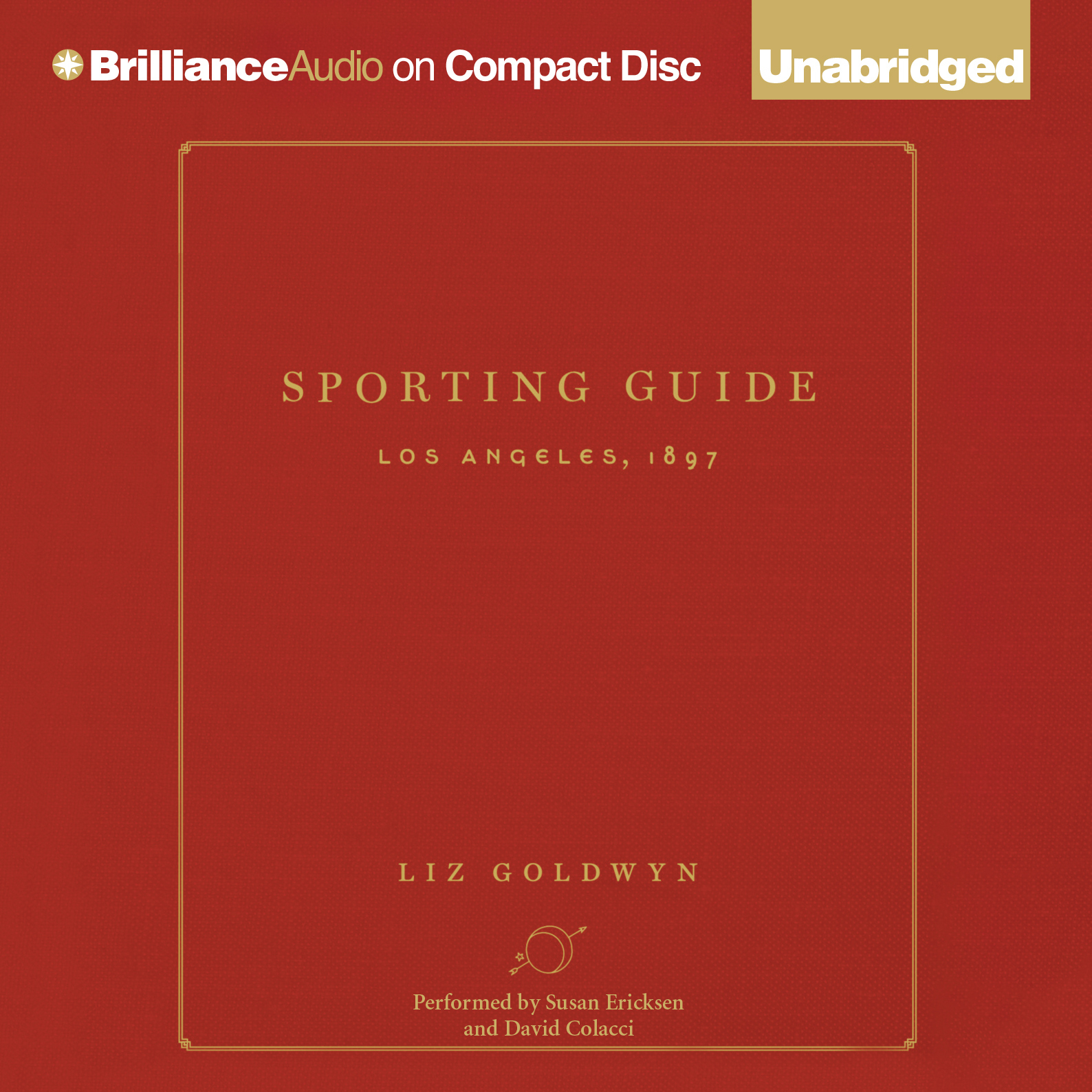 Printable Sporting Guide: Los Angeles, 1897 Audiobook Cover Art