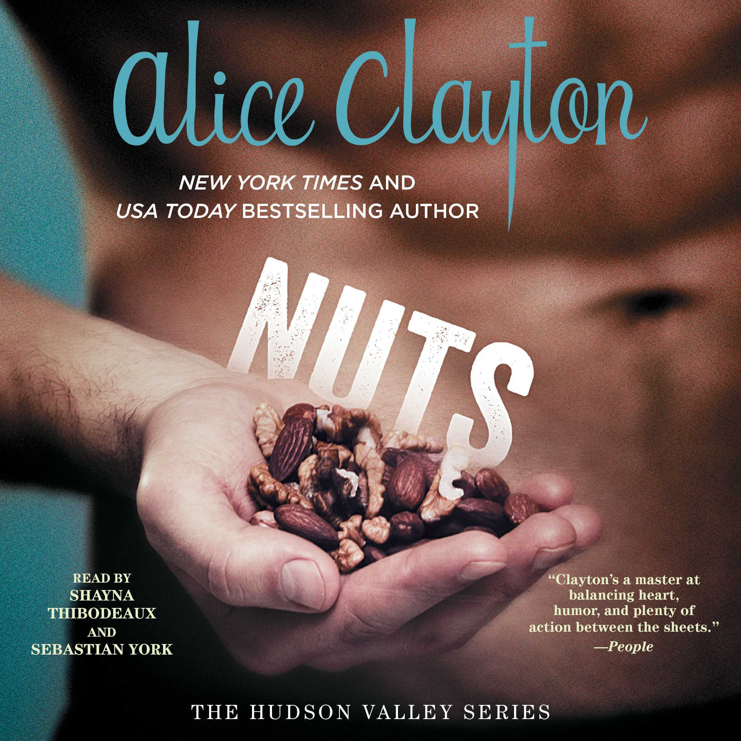 Printable Nuts Audiobook Cover Art