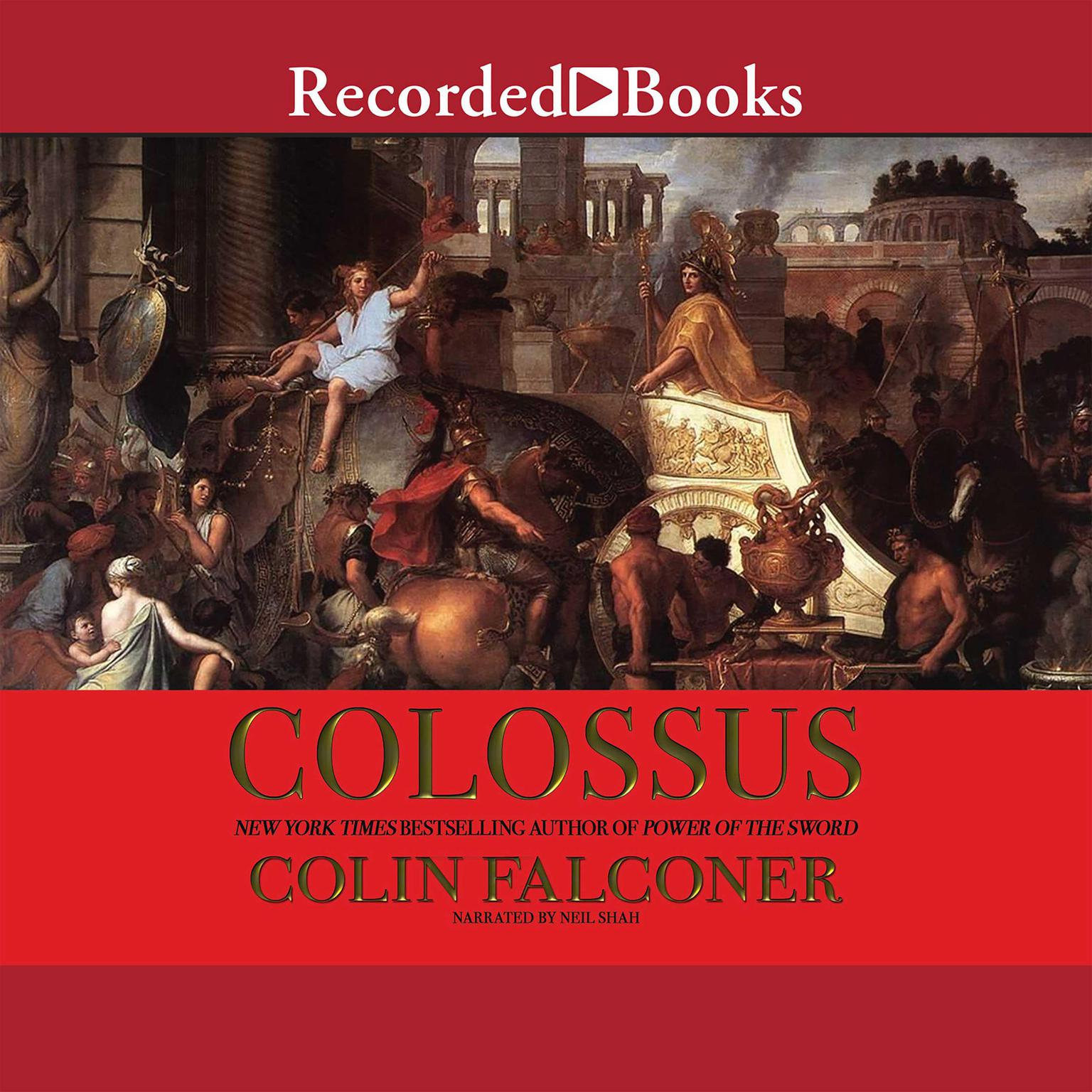 Printable Colossus: A Novel Audiobook Cover Art