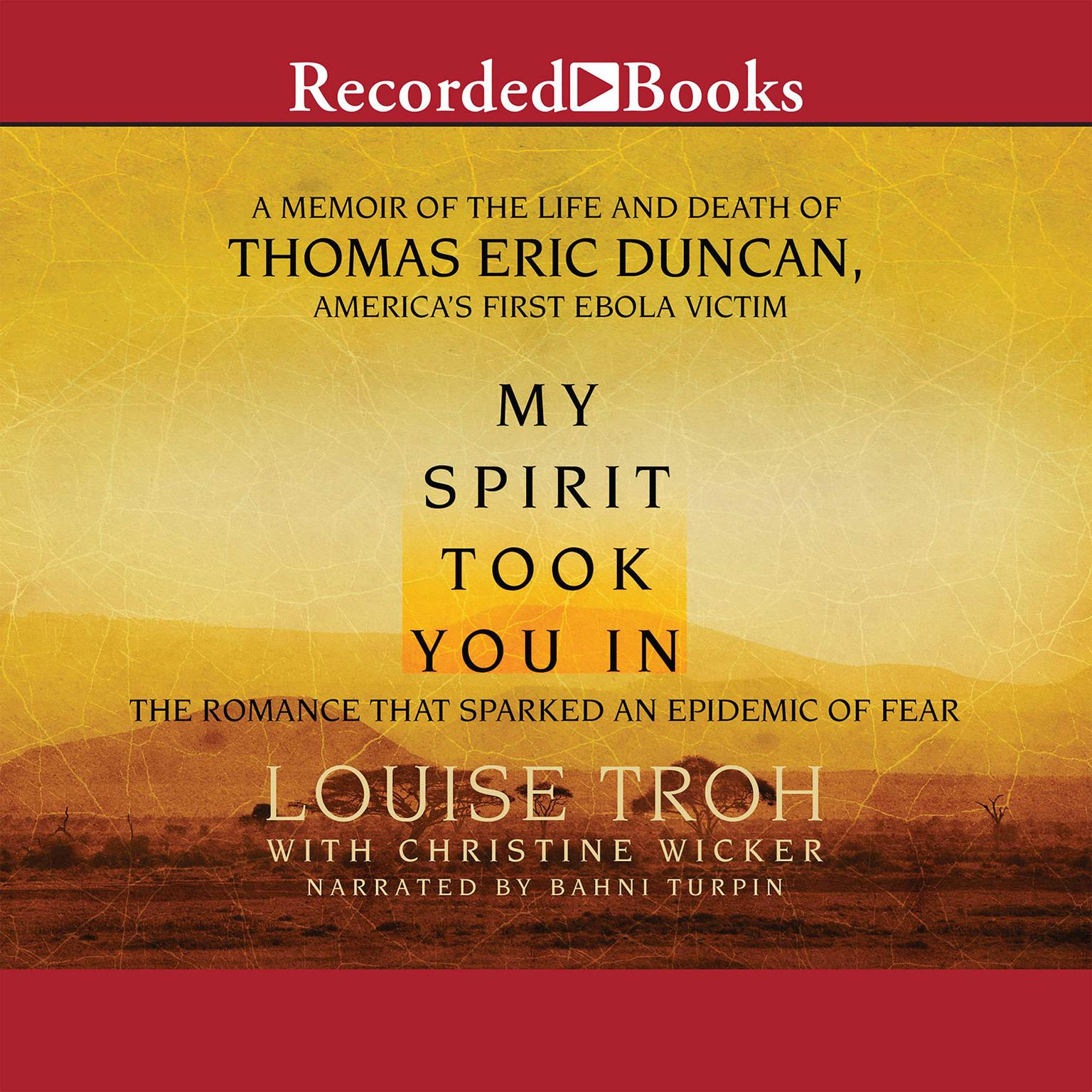 Printable My Spirit Took You In Audiobook Cover Art