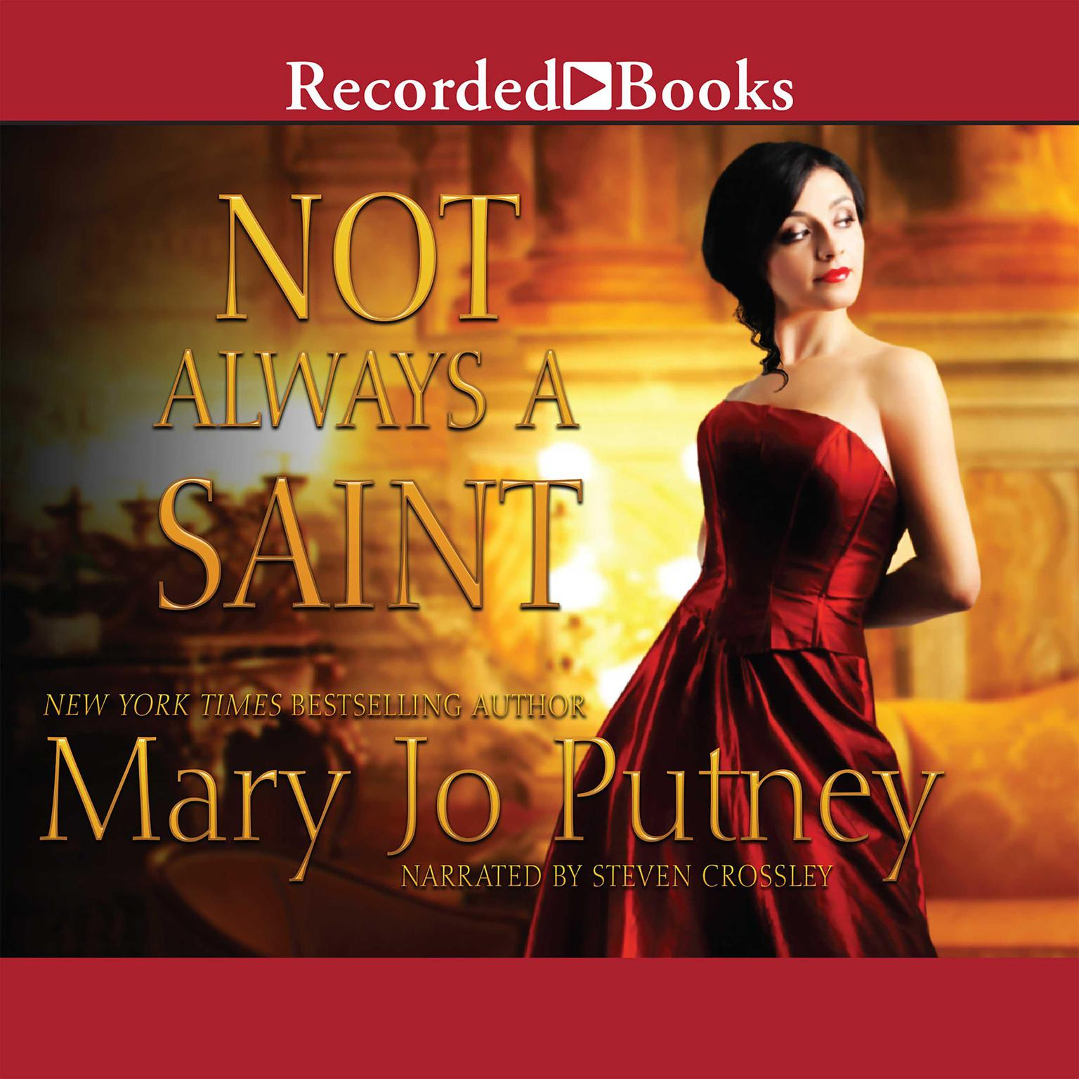 Printable Not Always a Saint Audiobook Cover Art