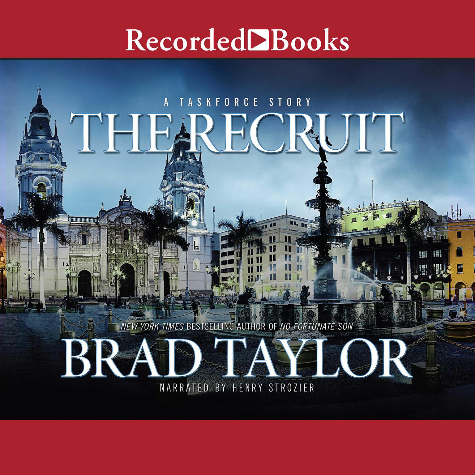Printable The Recruit: A Taskforce Story Audiobook Cover Art