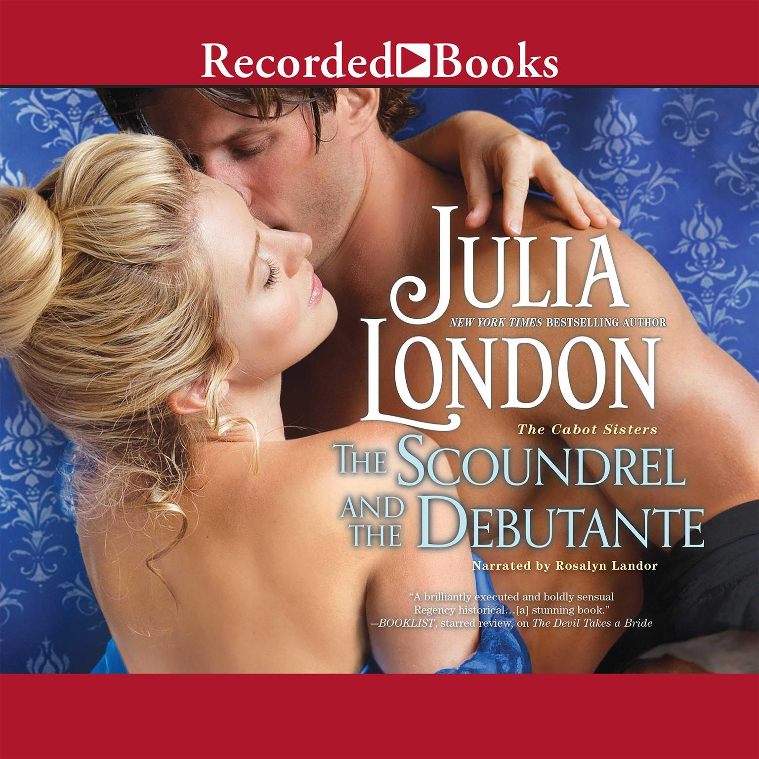 Printable The Scoundrel and the Debutante Audiobook Cover Art