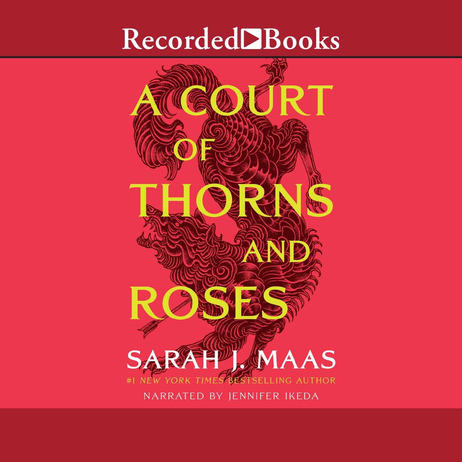 Printable A Court of Thorns and Roses Audiobook Cover Art