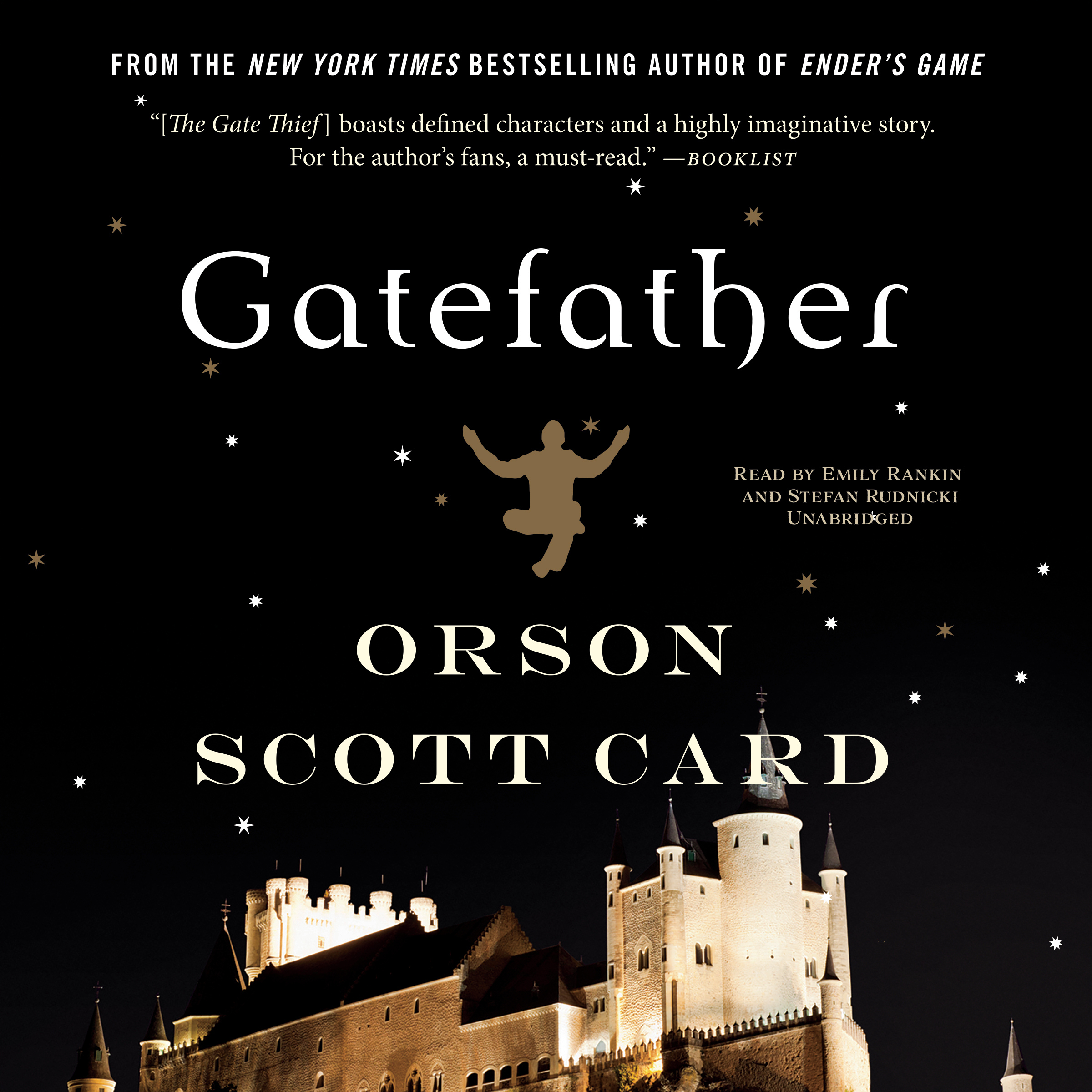 Printable Gatefather Audiobook Cover Art