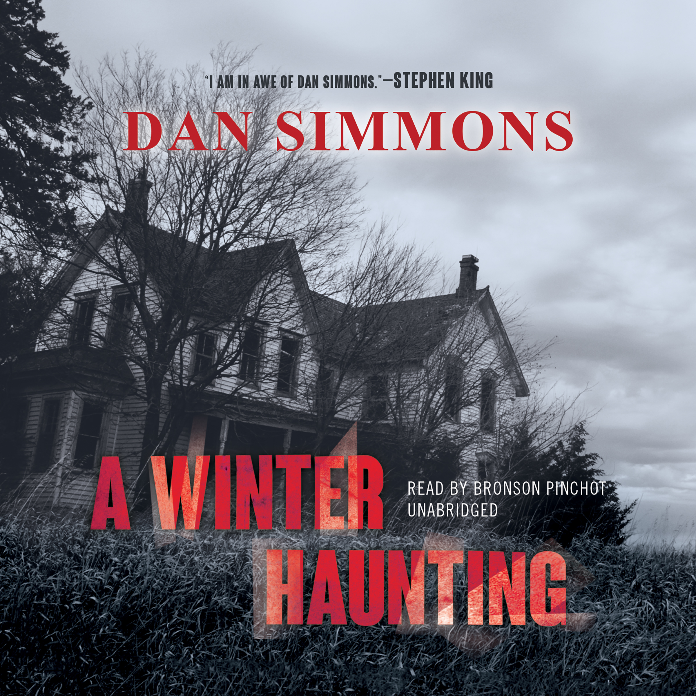 Printable A Winter Haunting Audiobook Cover Art