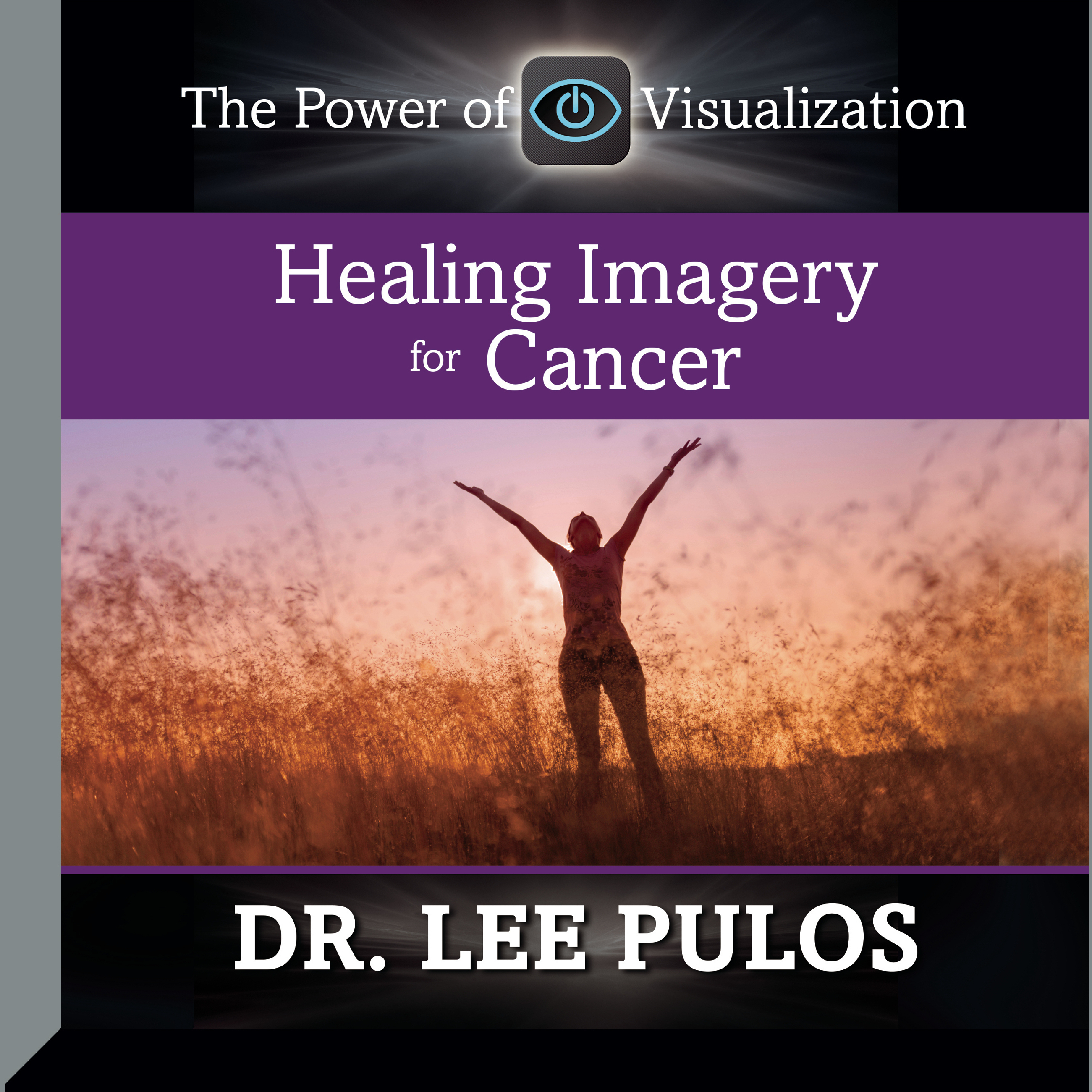 Printable Healing Imagery for Cancer Audiobook Cover Art