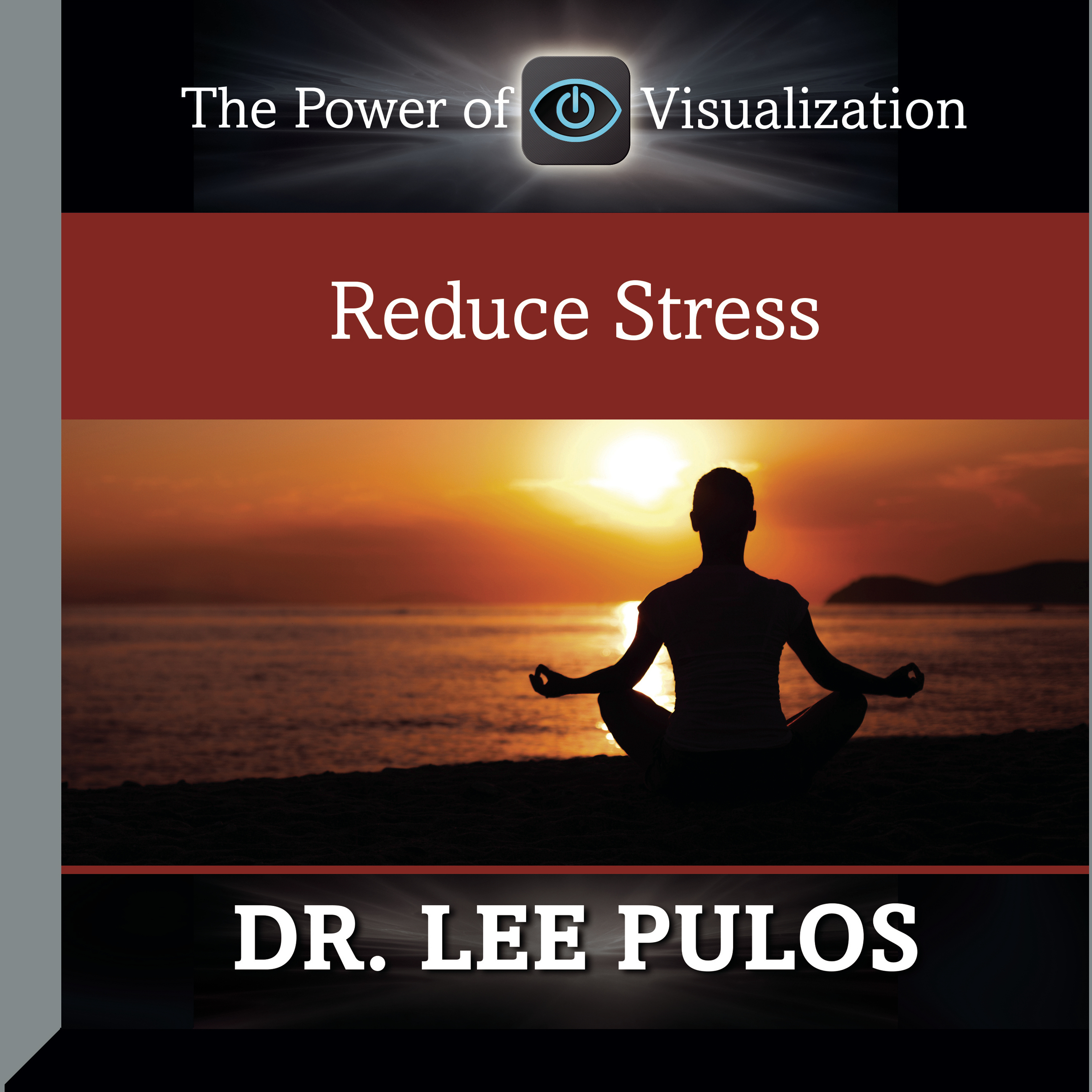 Printable Reduce Stress Audiobook Cover Art